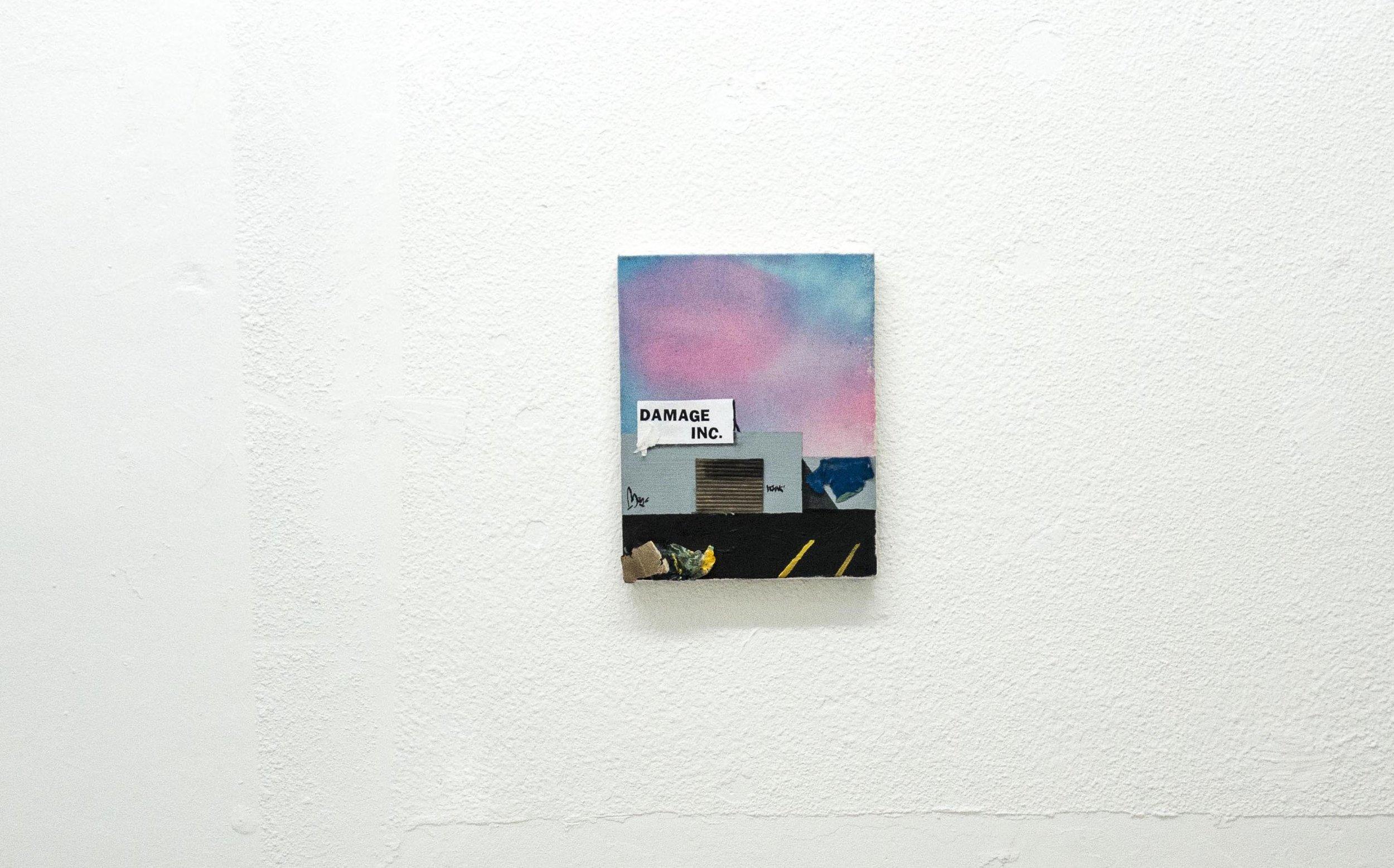 "Omar Velázquez / Untitled (Damage Inc.) / Medio Mixto / 11"" x 14"""