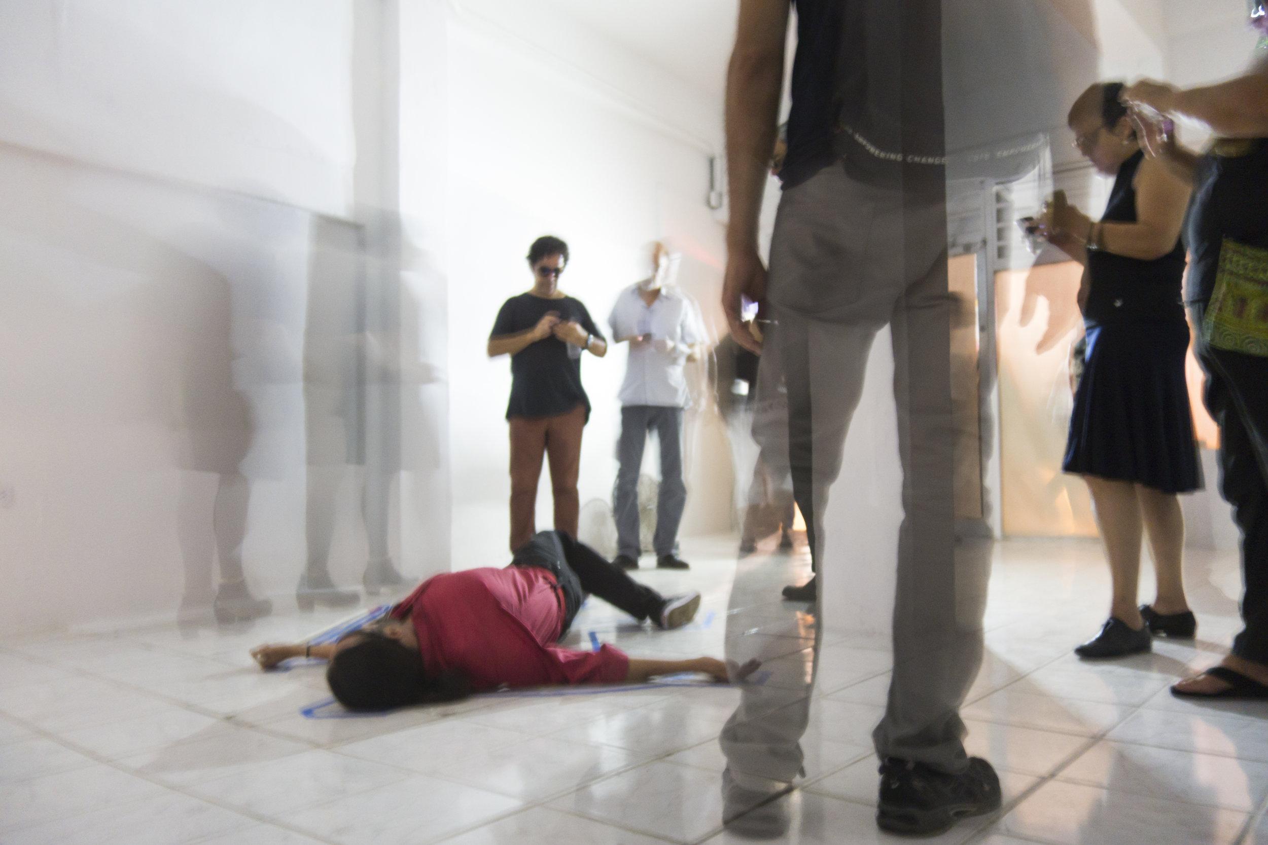 Punto Ciego, 2016 / Documentación de happening