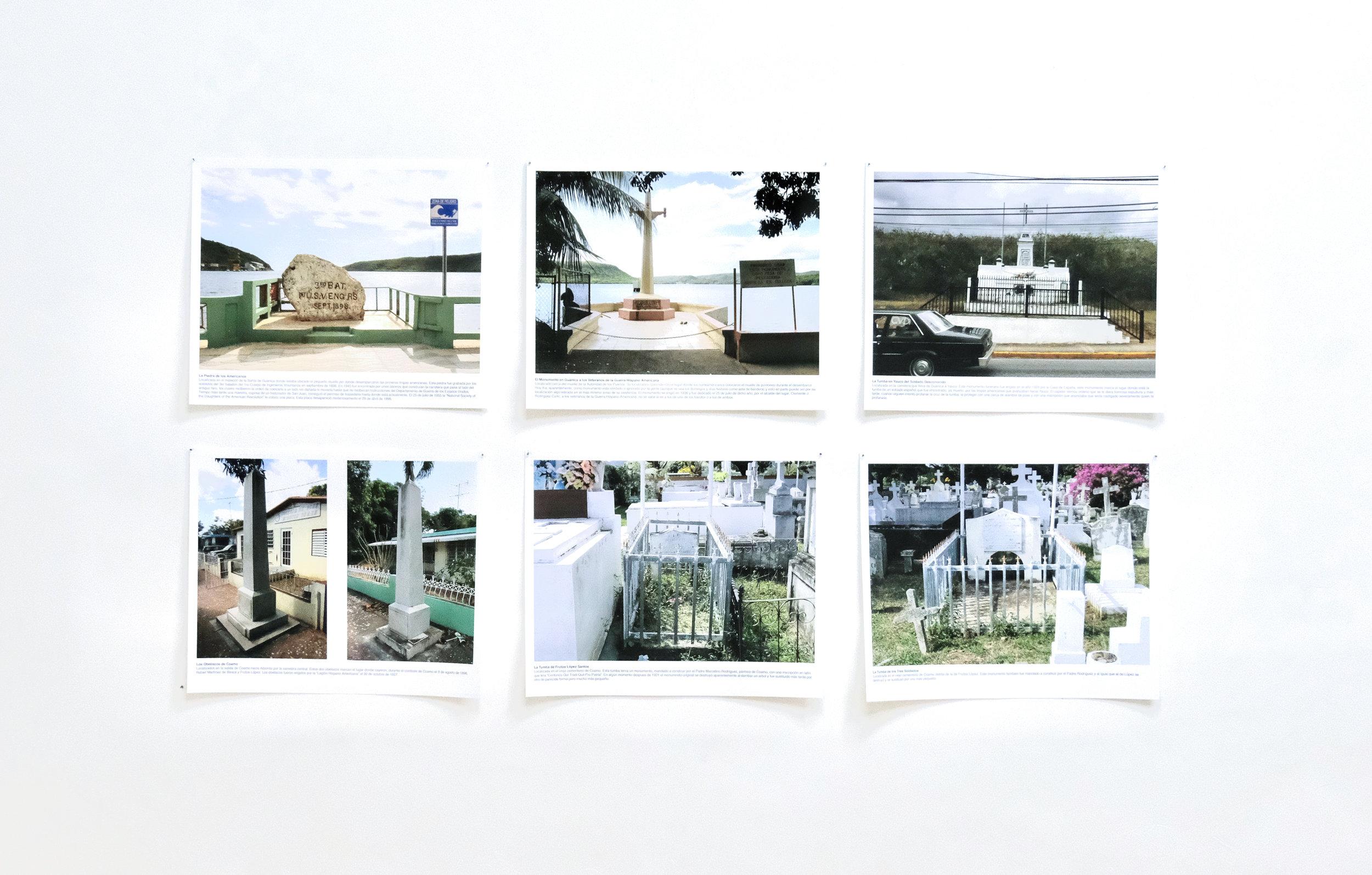 Monica Rodriguez / Cambio de Guardia: Puerto Rico 1898, 2013 / Impresión digital sobre papel algodón
