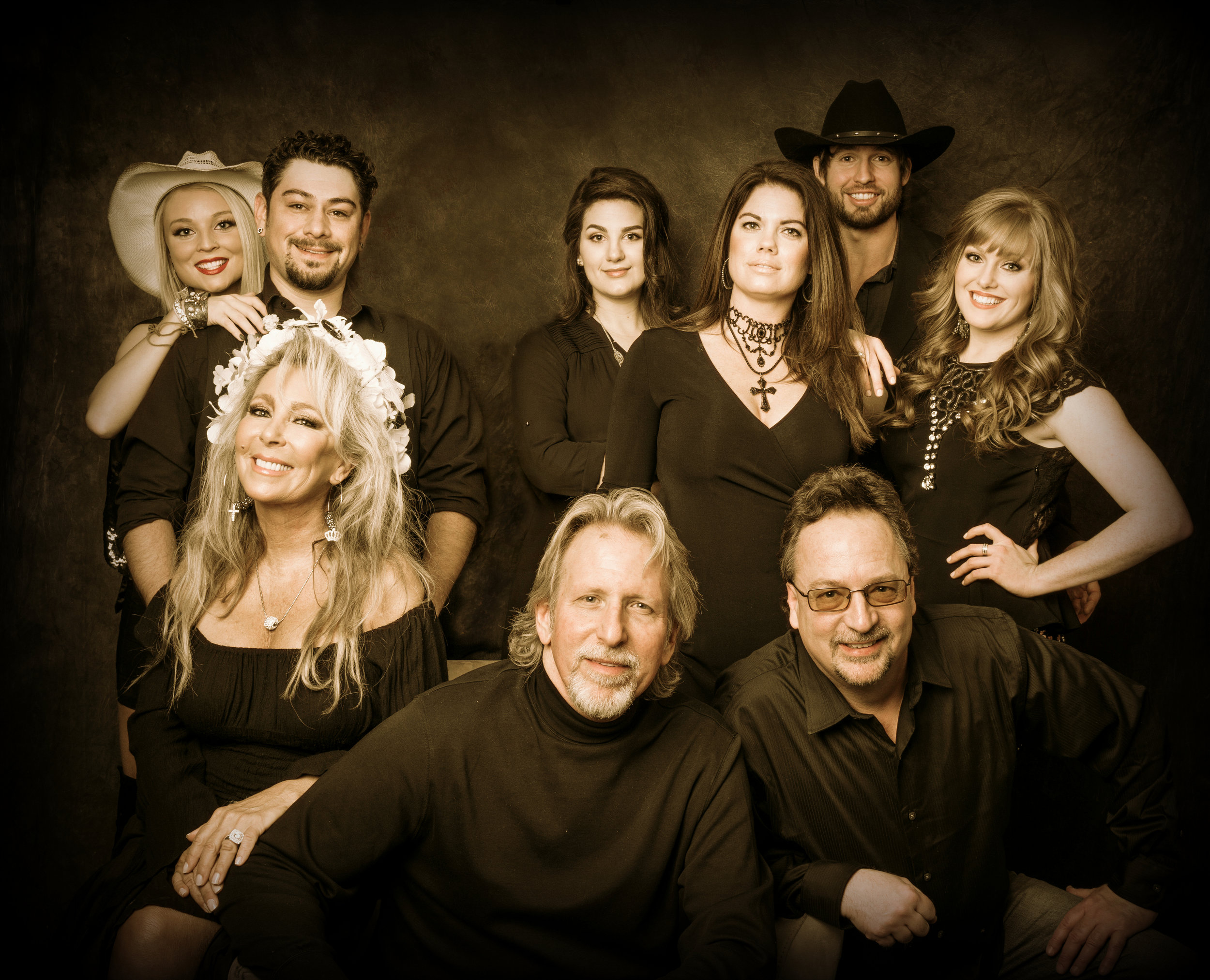 Mark and The Music of Nashville® cast, Candace Lucchesi, Bob Walker