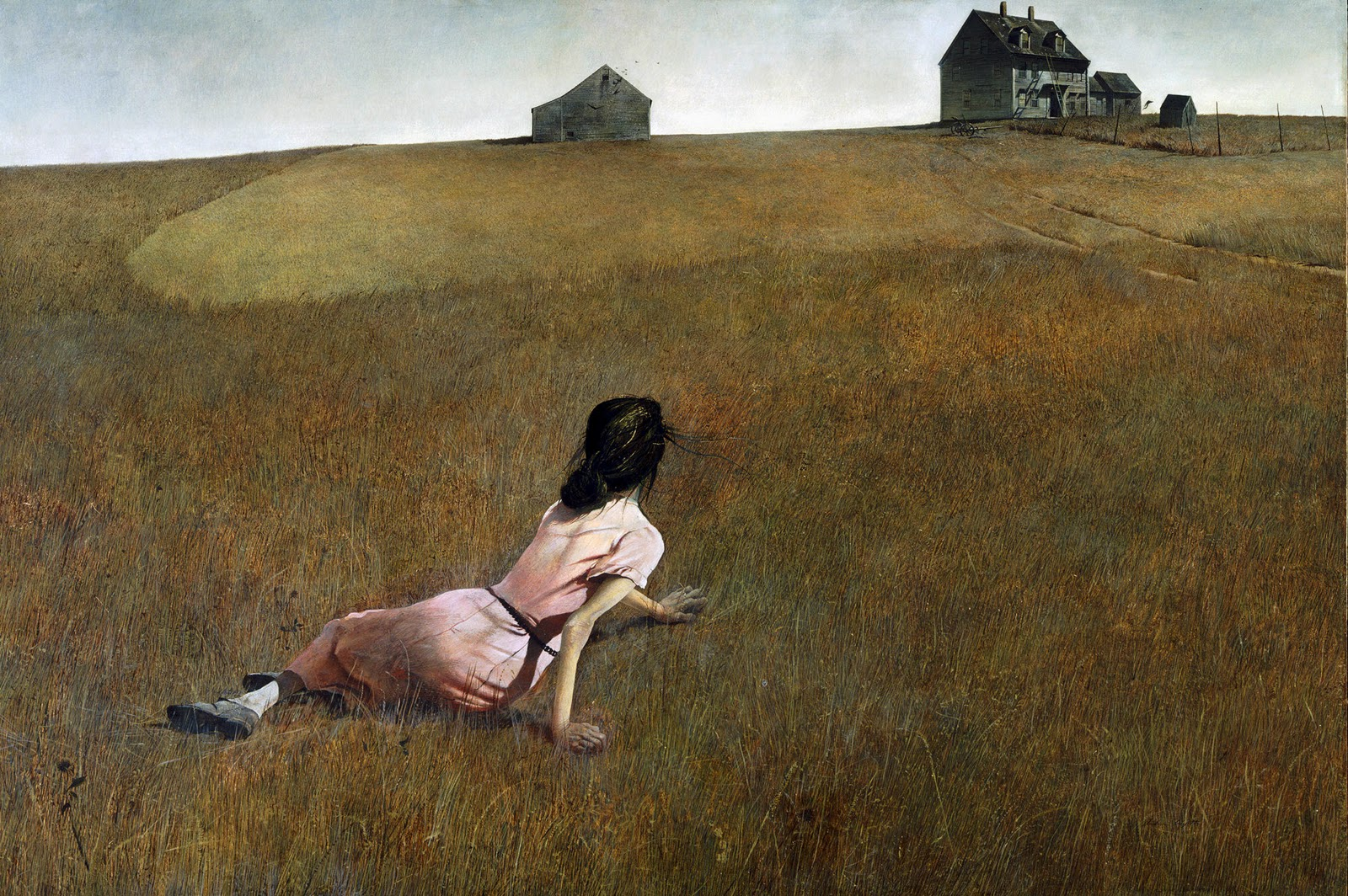Andrew Wyeth, Christina's World, 1948 - On display at MOMA