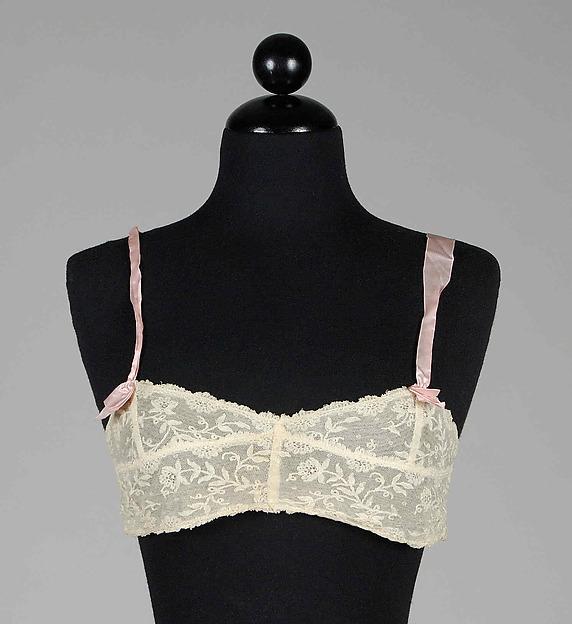 Brassiere | 1922–29 | American | Silk, cotton