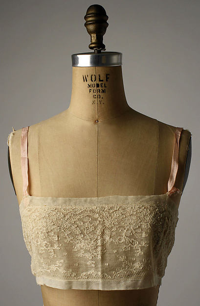 Brassiere | Bien Jolie | American | late 1920s | cotton, rayon