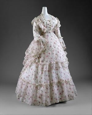 Dress | ca. 1872 |  Met Museum