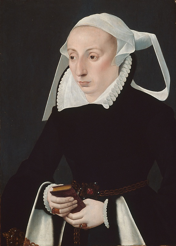Portrait of a Woman with a Prayer Book | Owned by the  Art Institute of Chicago