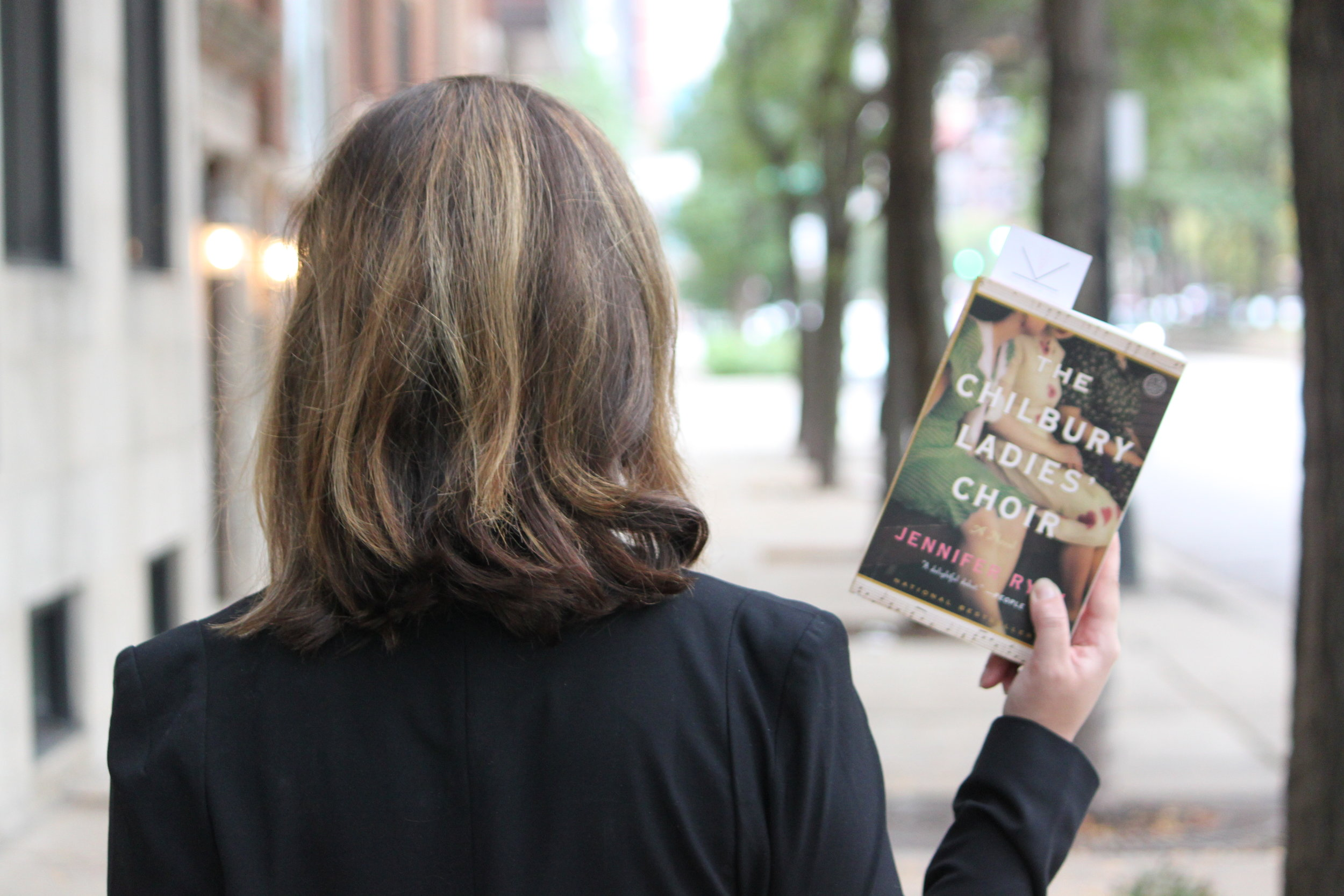 Reading The Chilbury Ladies' Choir by Jennifer Ryan in Chicago, IL