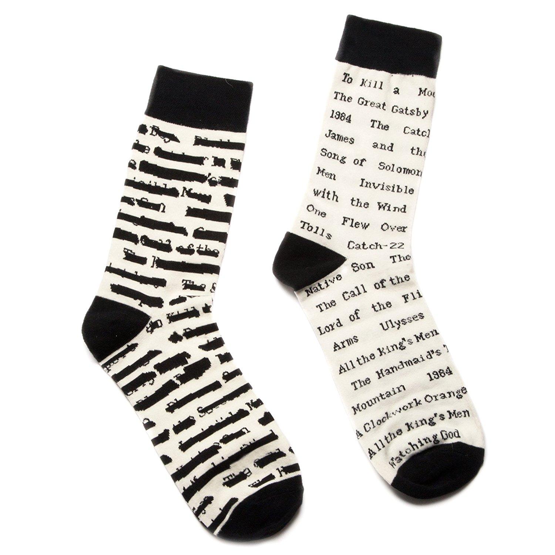 Out of Print Unisex Banned Books Socks.jpg