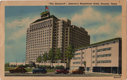 Shamrock Hotel featured in Anton DiSclafani's book, The After Party
