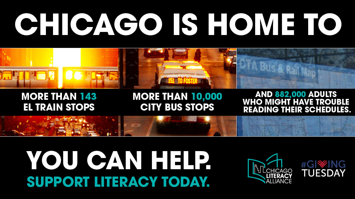 5 Places to Donate Money or Books to Support Literacy: 1) Chicago Literacy Alliance