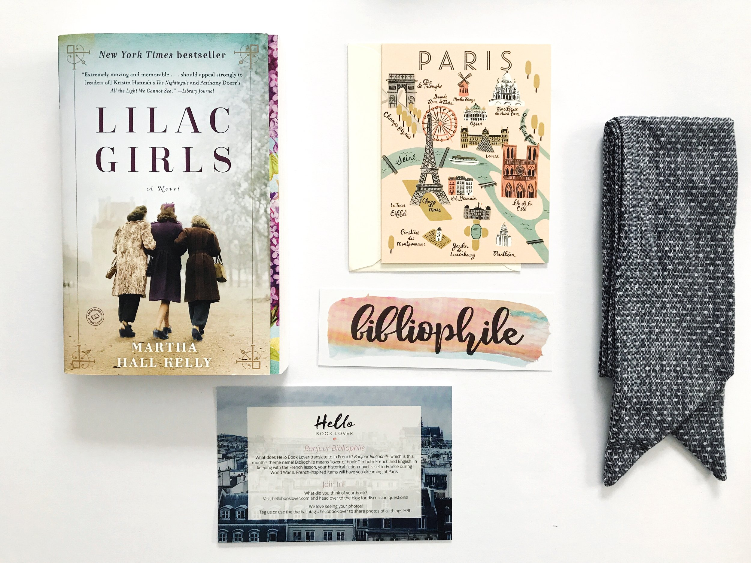 5 Subscription Book Boxes to Give as Gifts - 4) Hello Book Lover