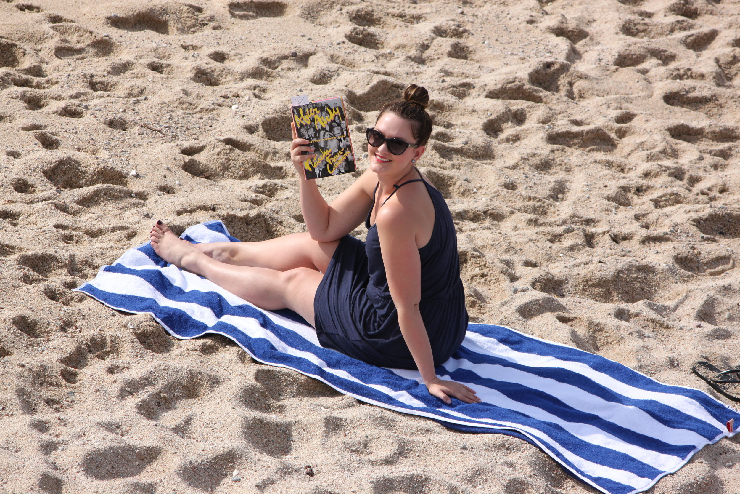 Reading After Andy by Natasha Fraser-Cavassoni at Sirena del Mar in Cabo San Lucas, Mexico