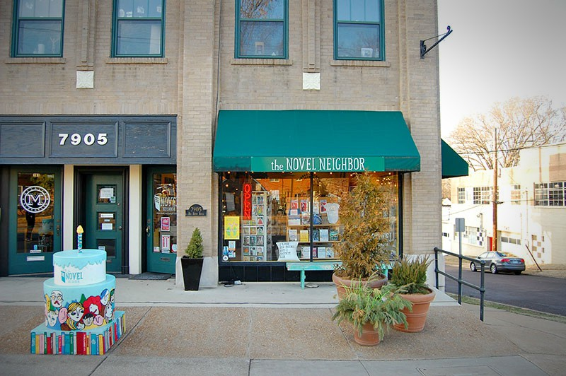 New Year, New City: 5 St. Louis Bookstores to Visit in 2018: 3) The Novel Neighbor | Image from The Novel Neighbor's website