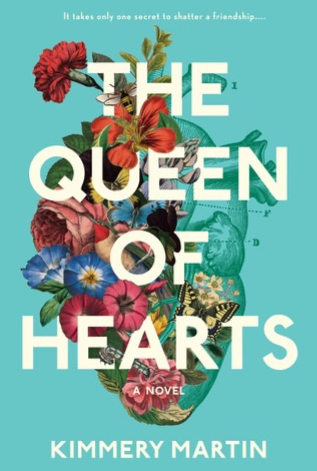 The Queen of Hearts by Kimmery Martin - Book Jacket designed by Colleen Reinhart