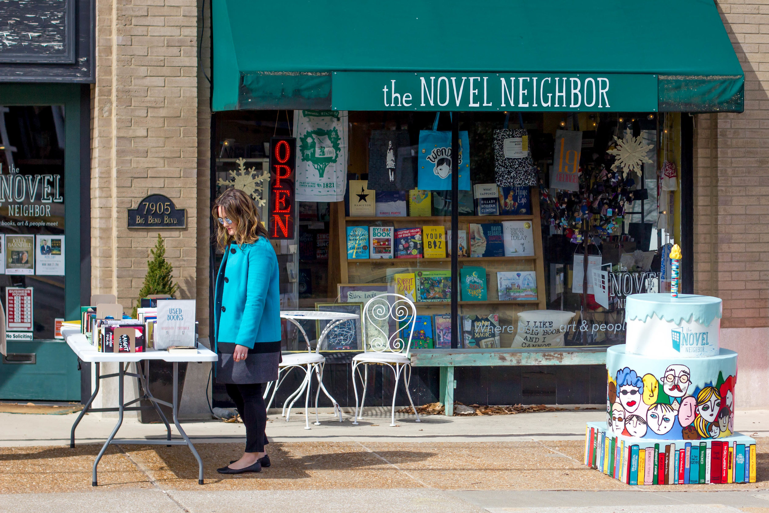 5 STL Bookstores to Visit on Independent Bookstore Day   The Novel Neighbor
