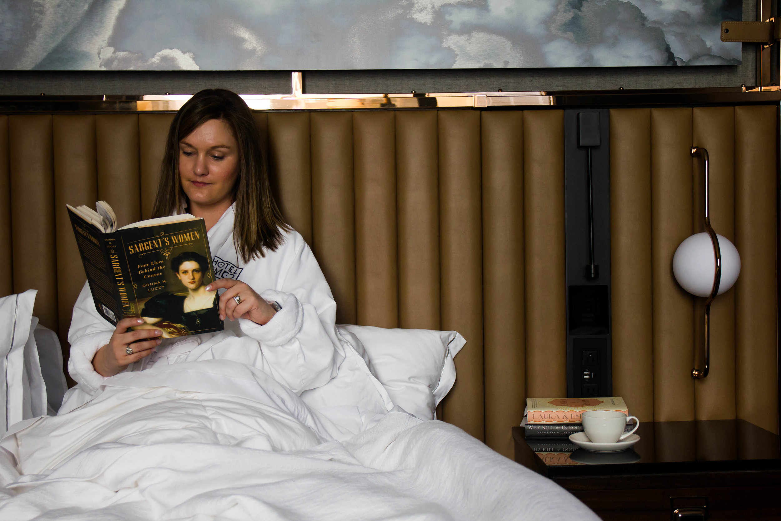 Reading Sargent's Women by Donna M. Lucey at EMC2 hotel in Chicago, IL