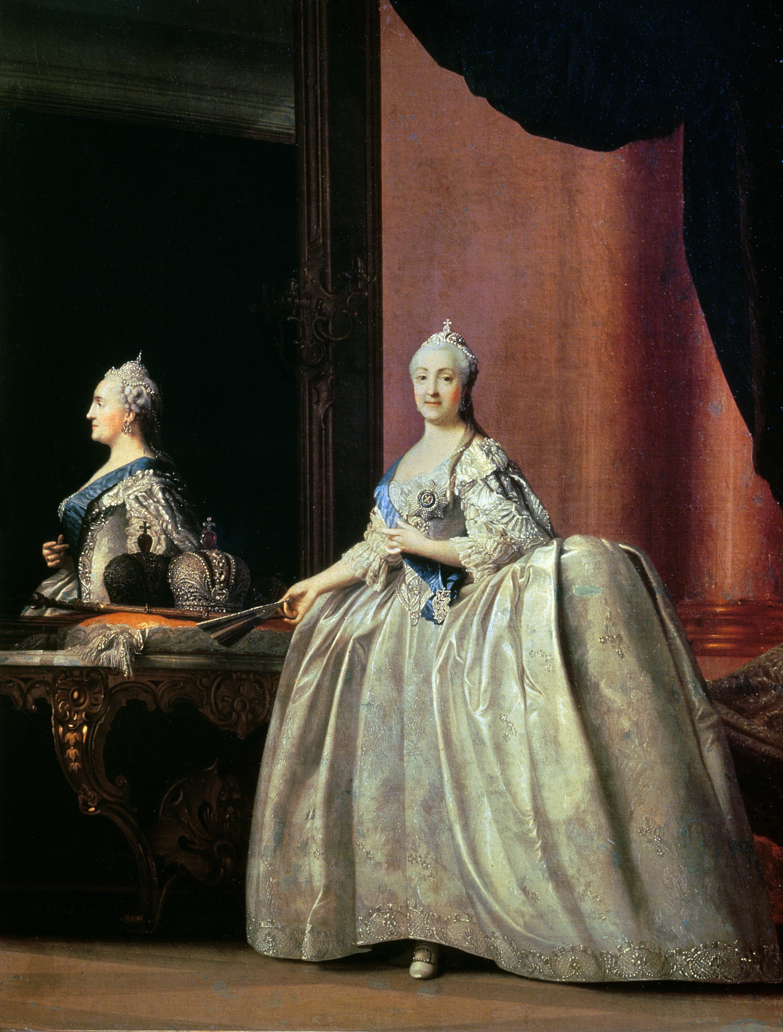 """Author Interview with Susan Jaques - """"Empress Catherine before the Mirror"""" by Vigilius Erikson"""