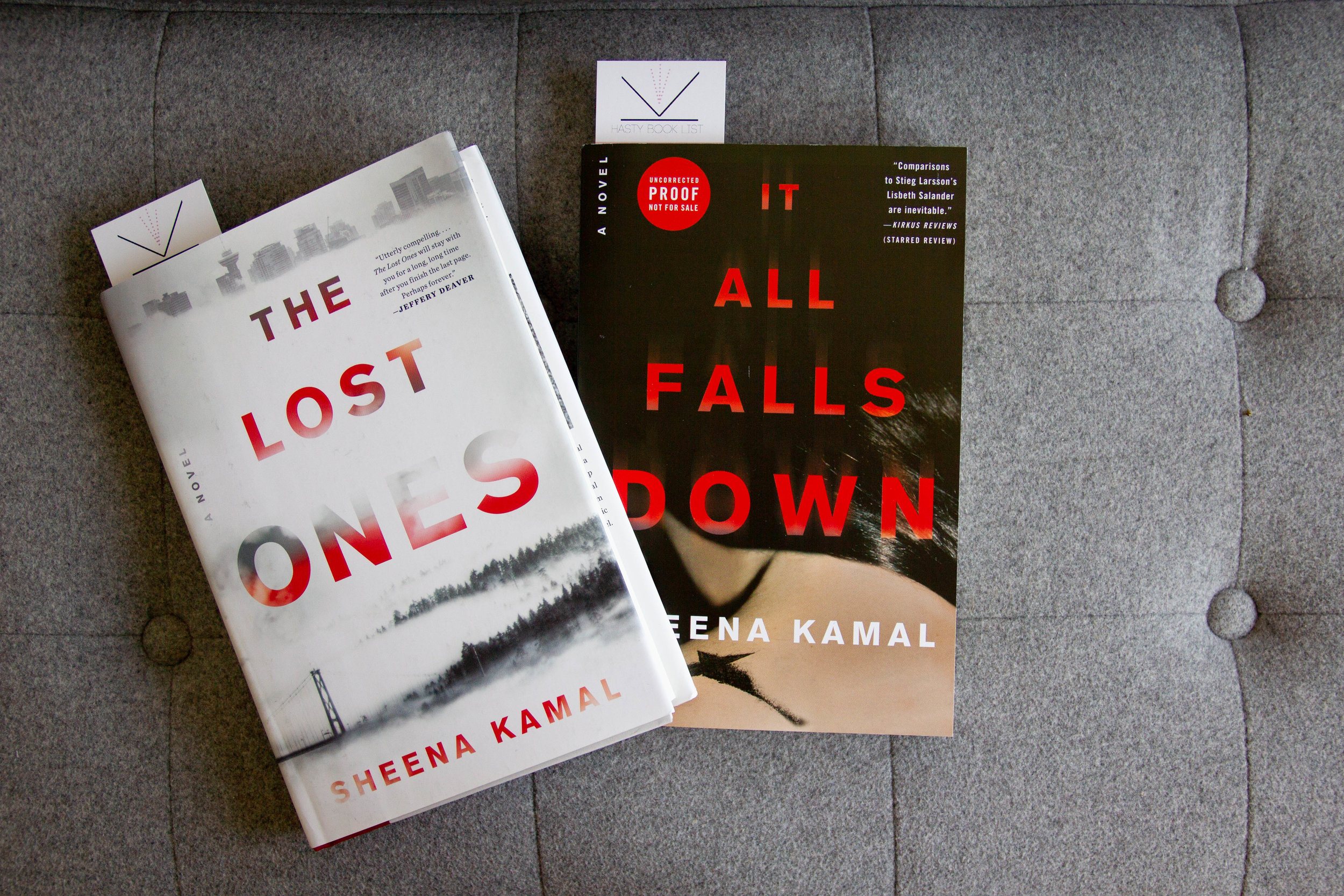 Book Feature - It All Falls Down & The Lost Ones by Sheena Kamal