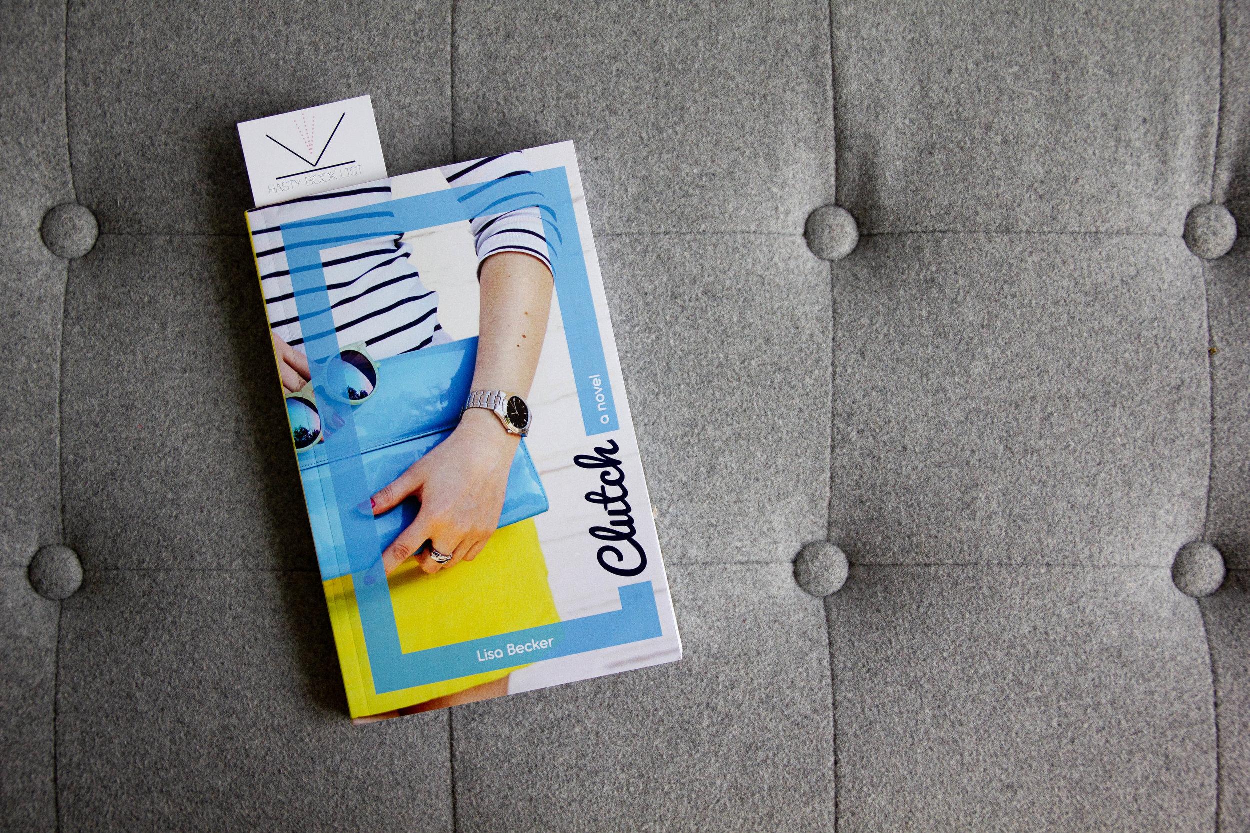 Book Feature of Clutch by Lisa Becker