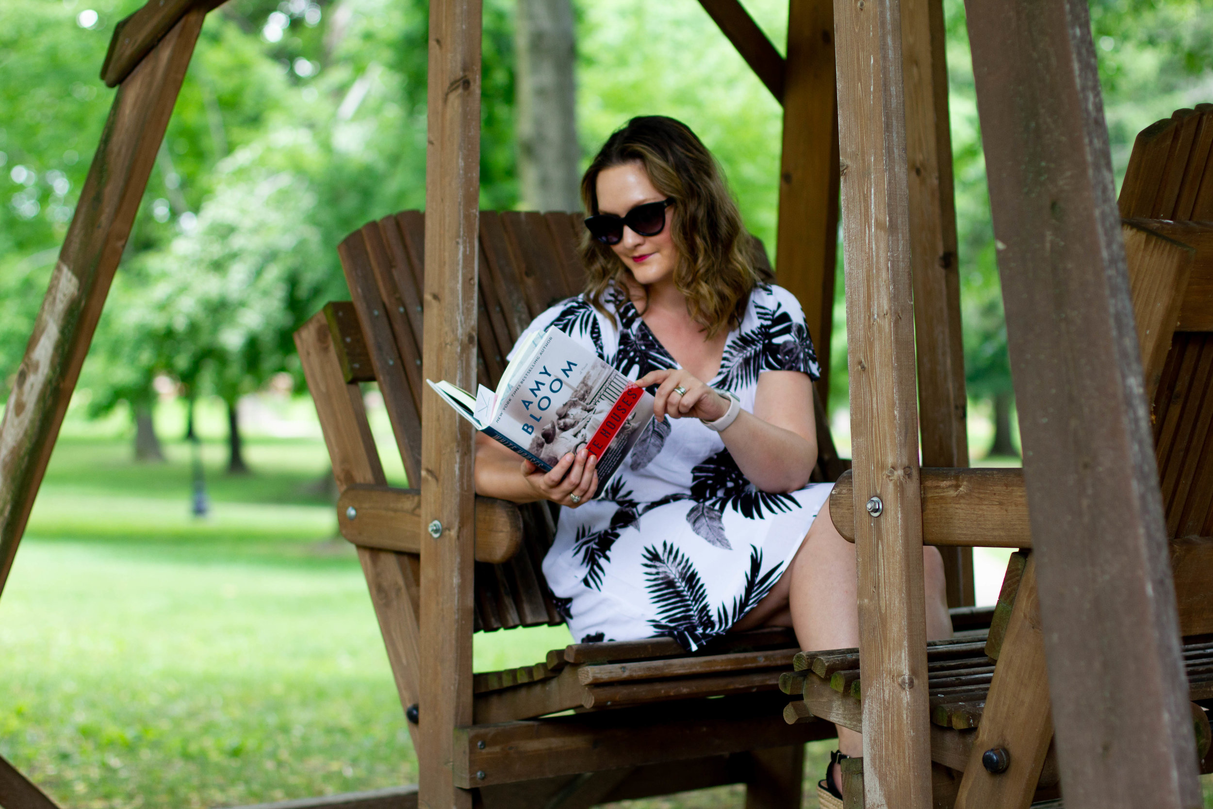 Reading White Houses by Amy Bloom at Lindenwood University in St. Charles, MO