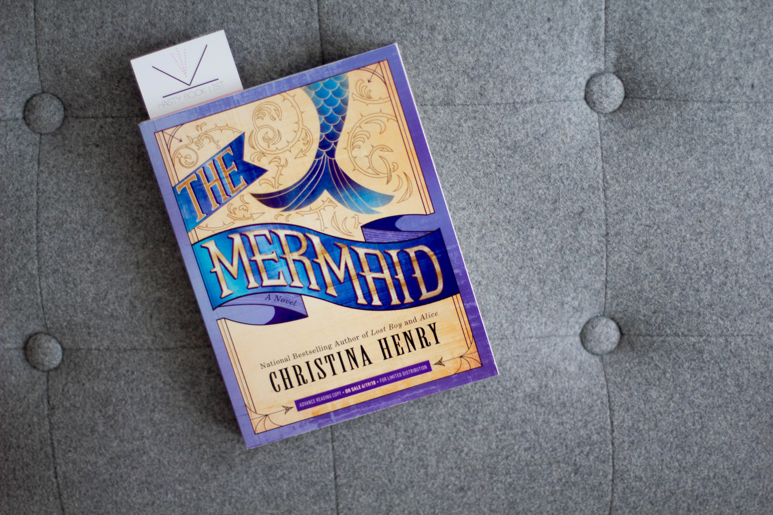Book Feature - The Mermaid by Christina Henry