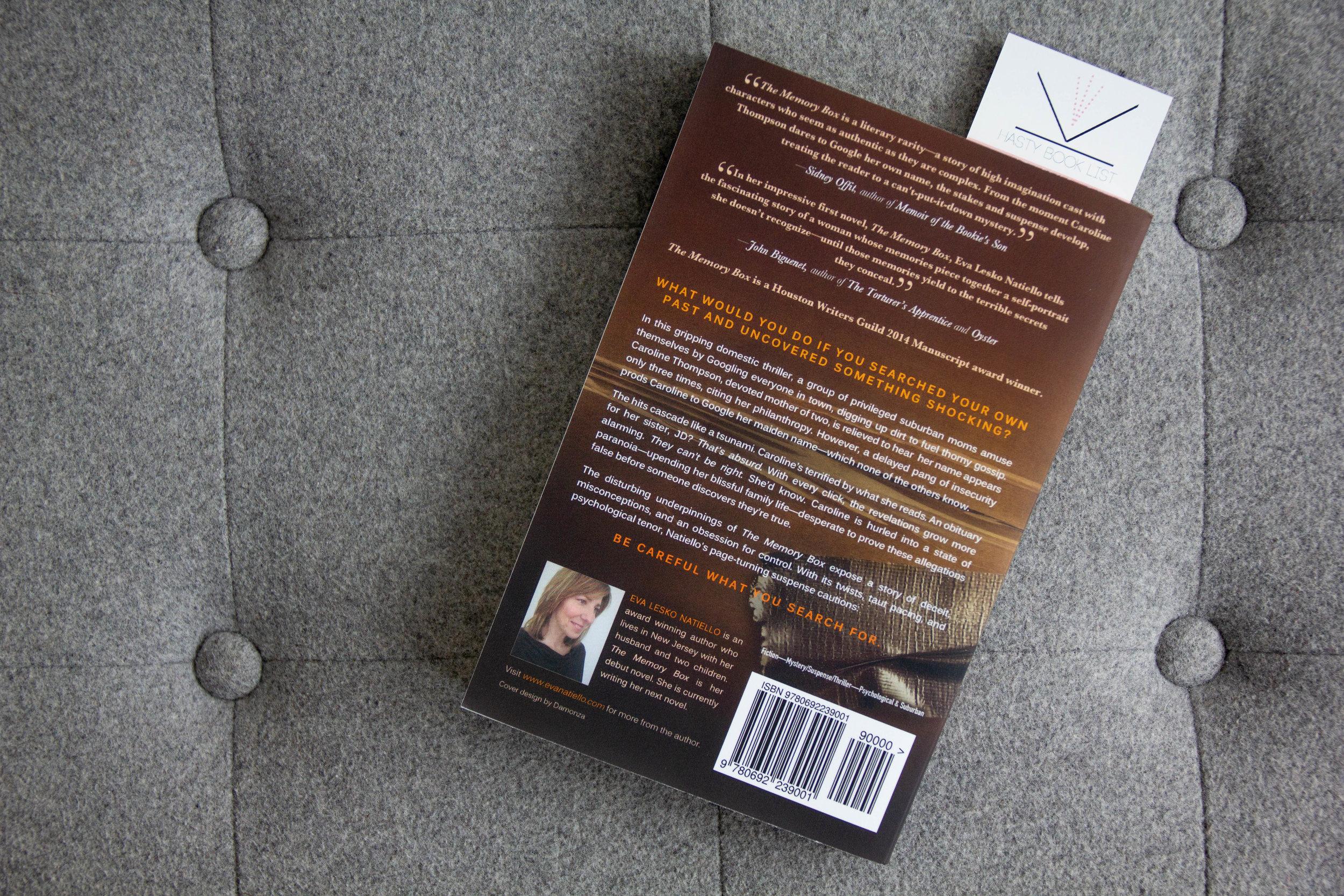 Book Feature - The Memory Box by Eva Natiello