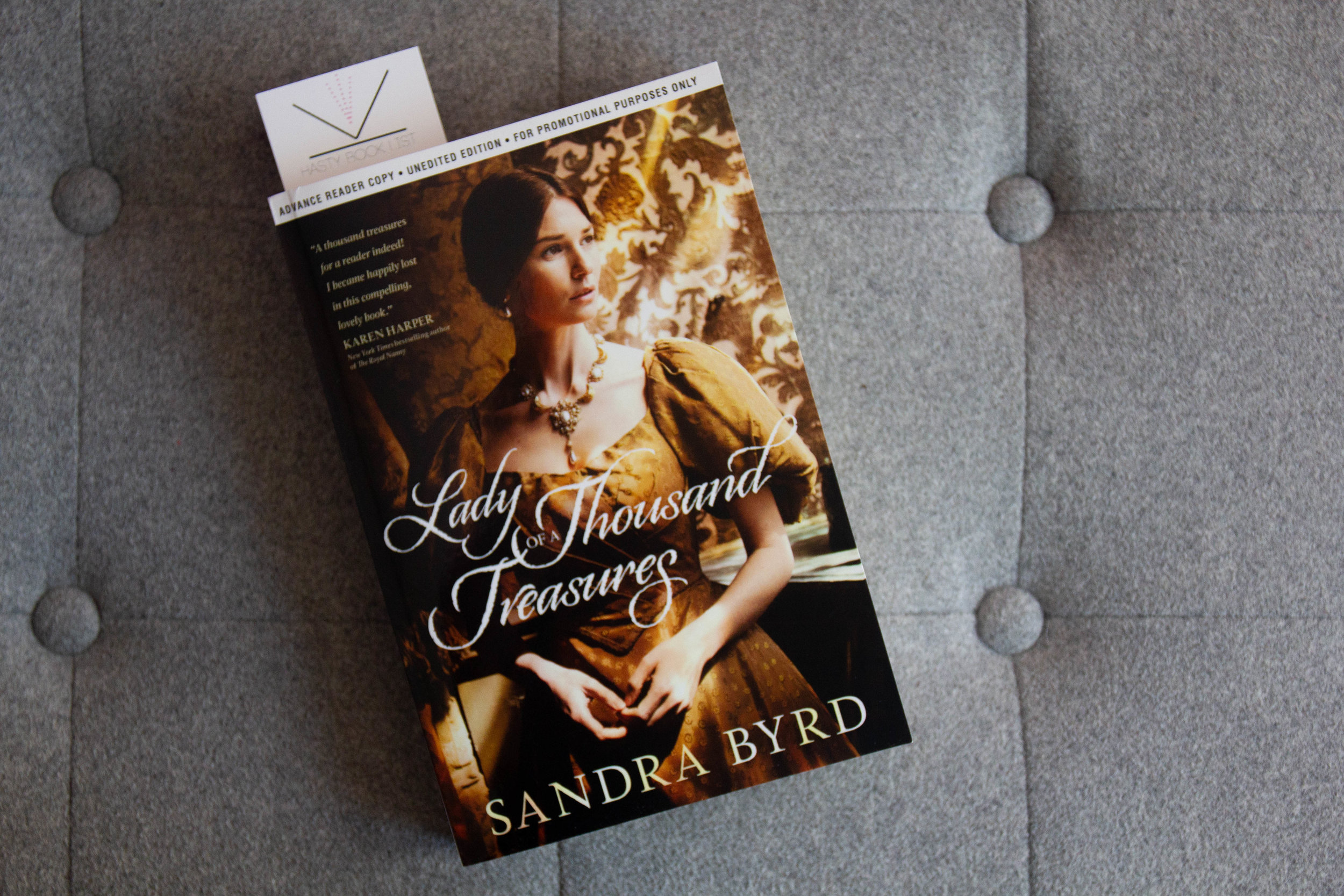 Book Feature - Lady of a Thousand Treasures by Sandra Byrd