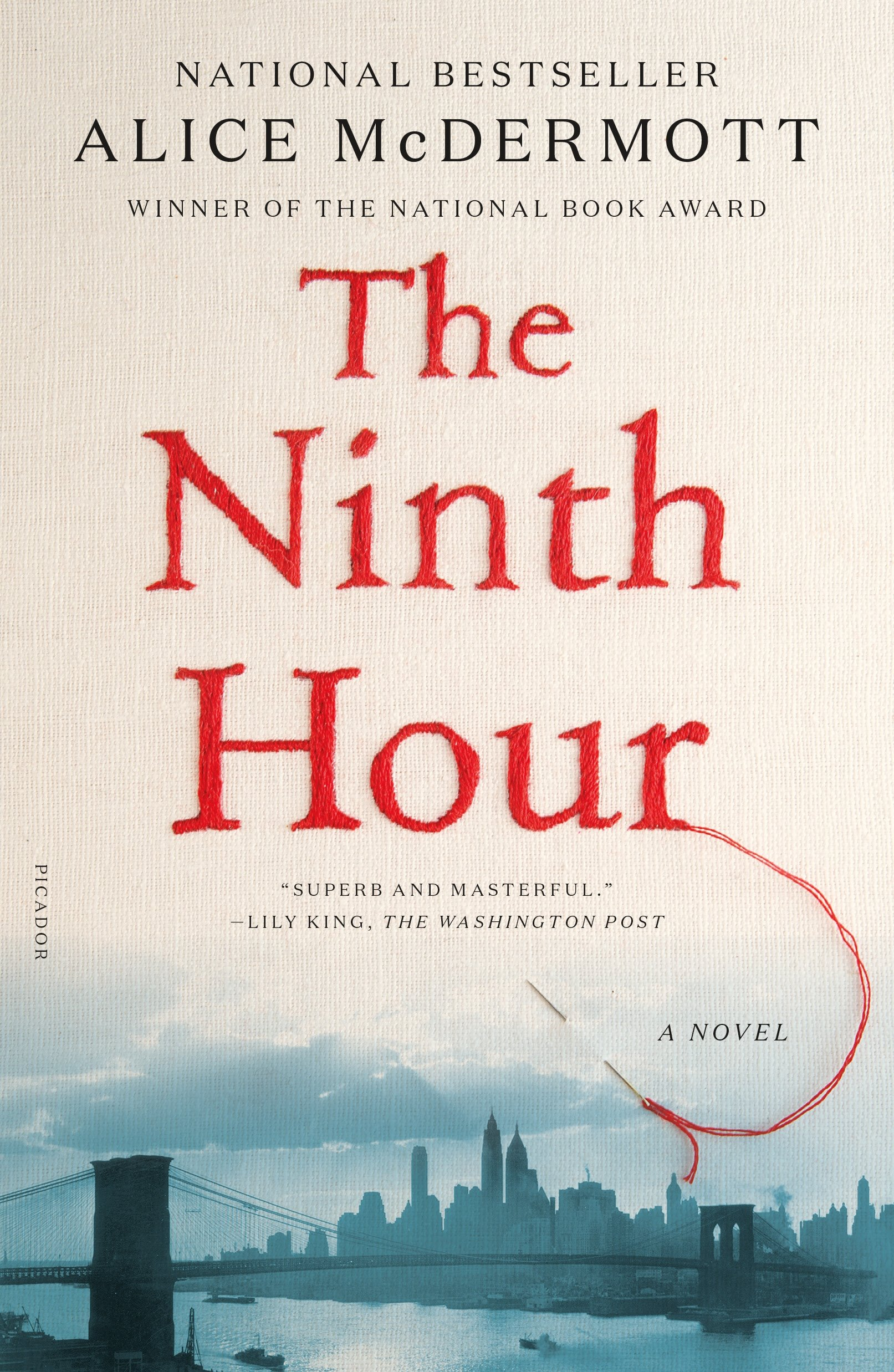 Book Feature - The Ninth Hour by Alice McDermott