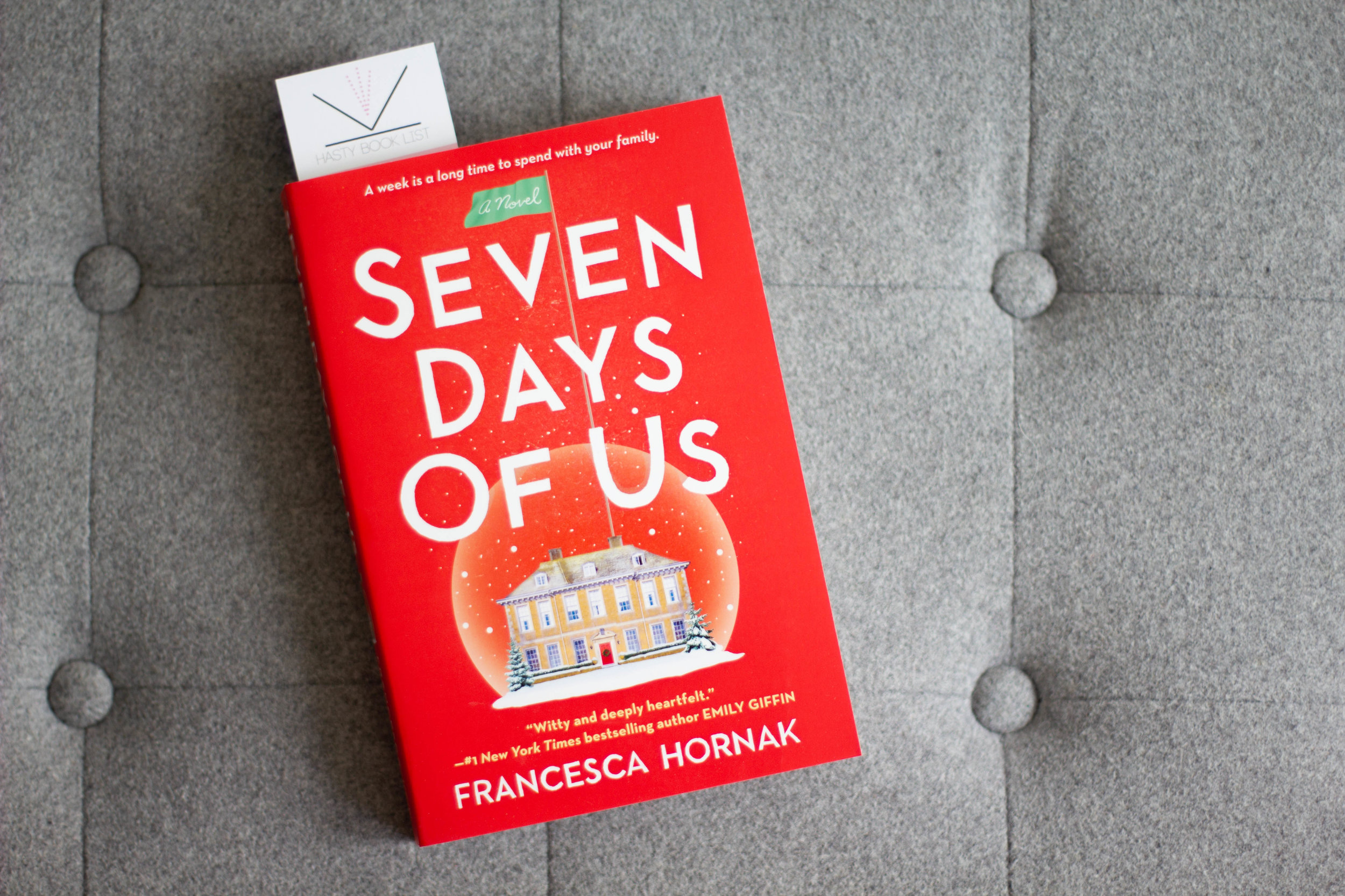 Book Feature - Seven Days of Us by Francesca Hornak