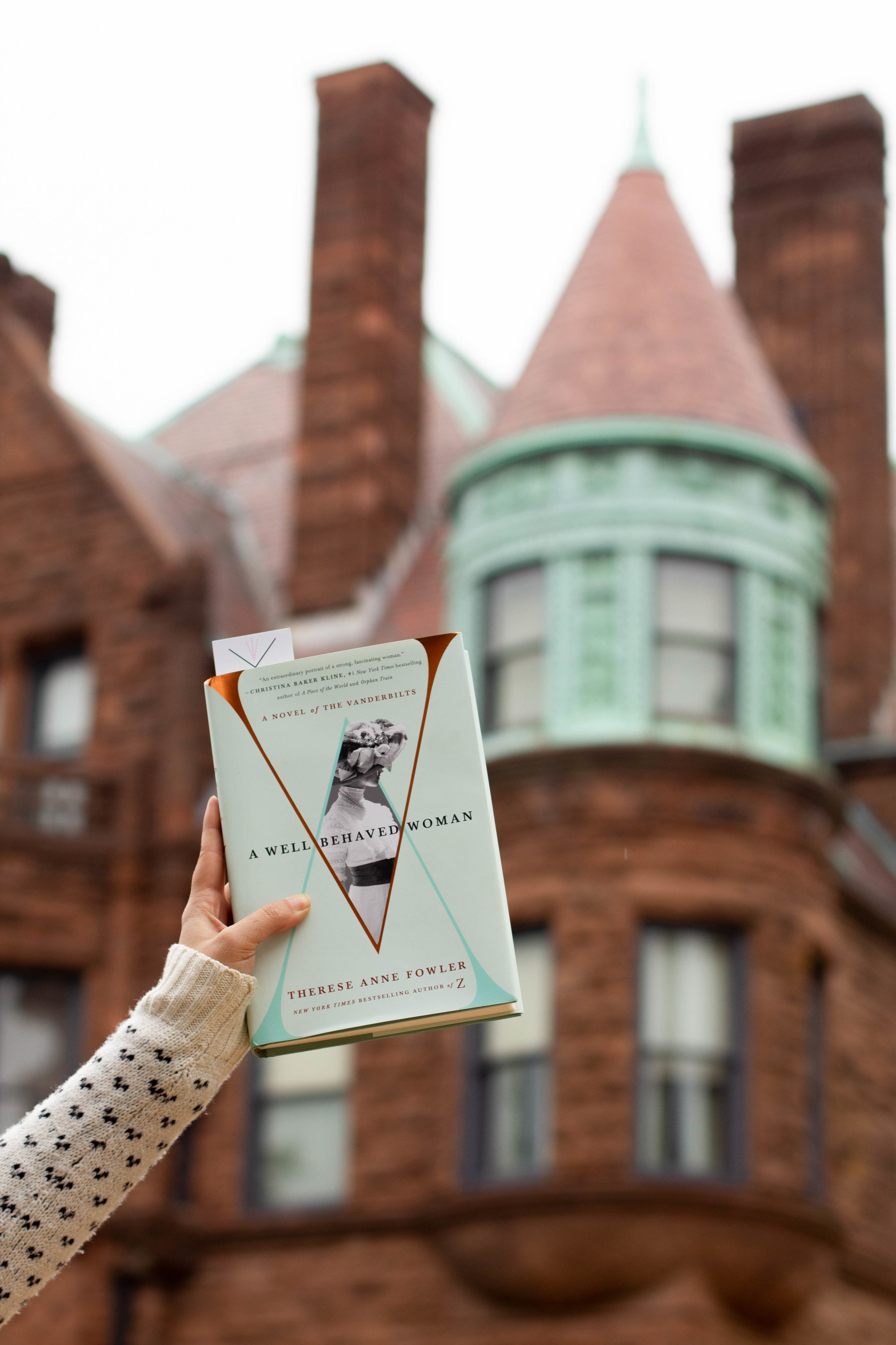 Reading A Well-Behaved Woman at the Samuel Cupples House on the St. Louis University Campus