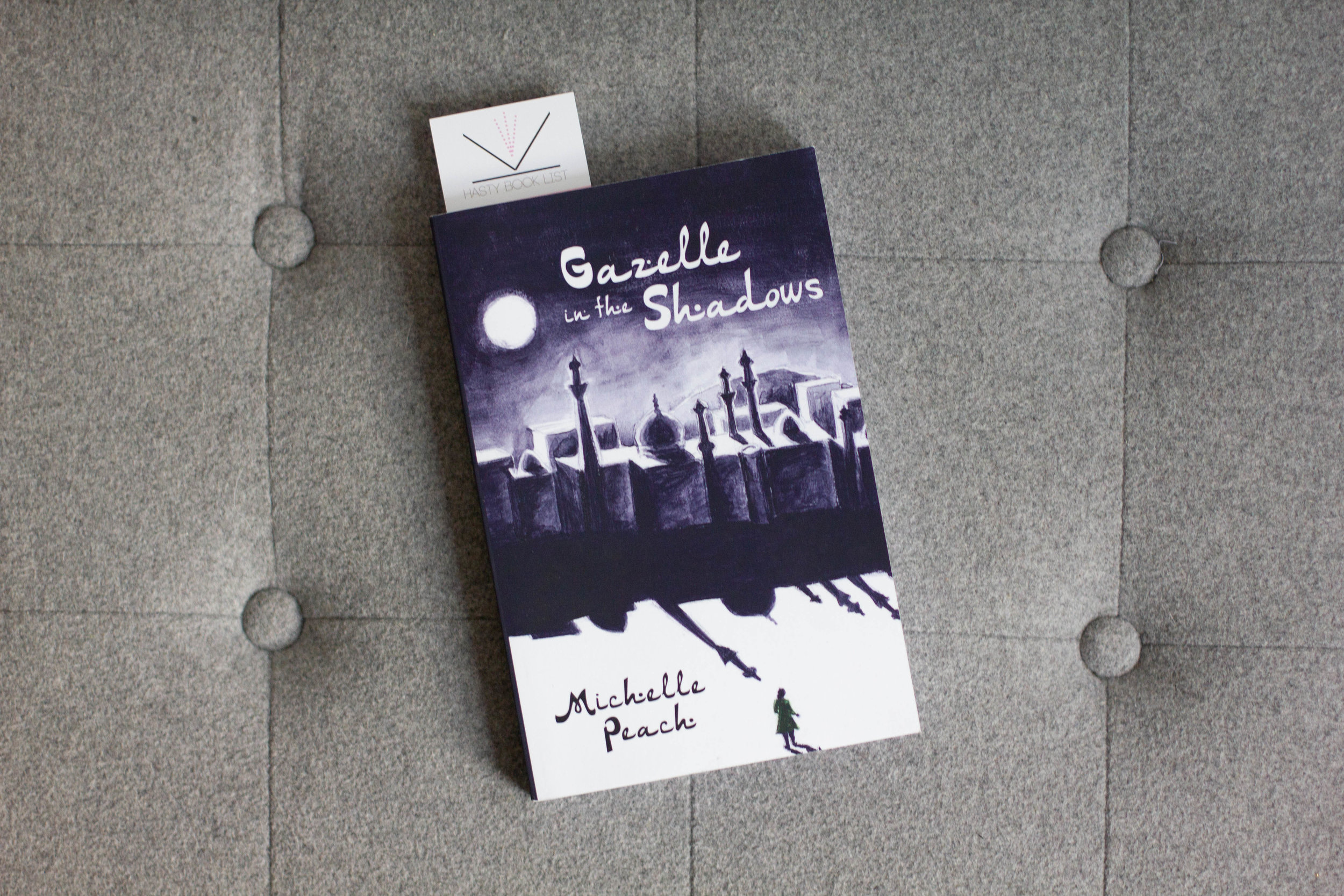 Book Feature - Gazelle in the Shadows by Michelle Peach