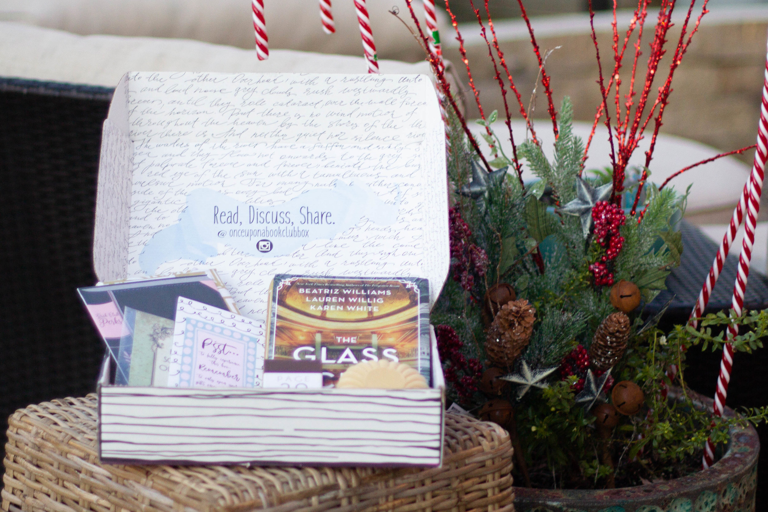 5 Gifts for Book Lovers   A box from Once Upon a Book Club