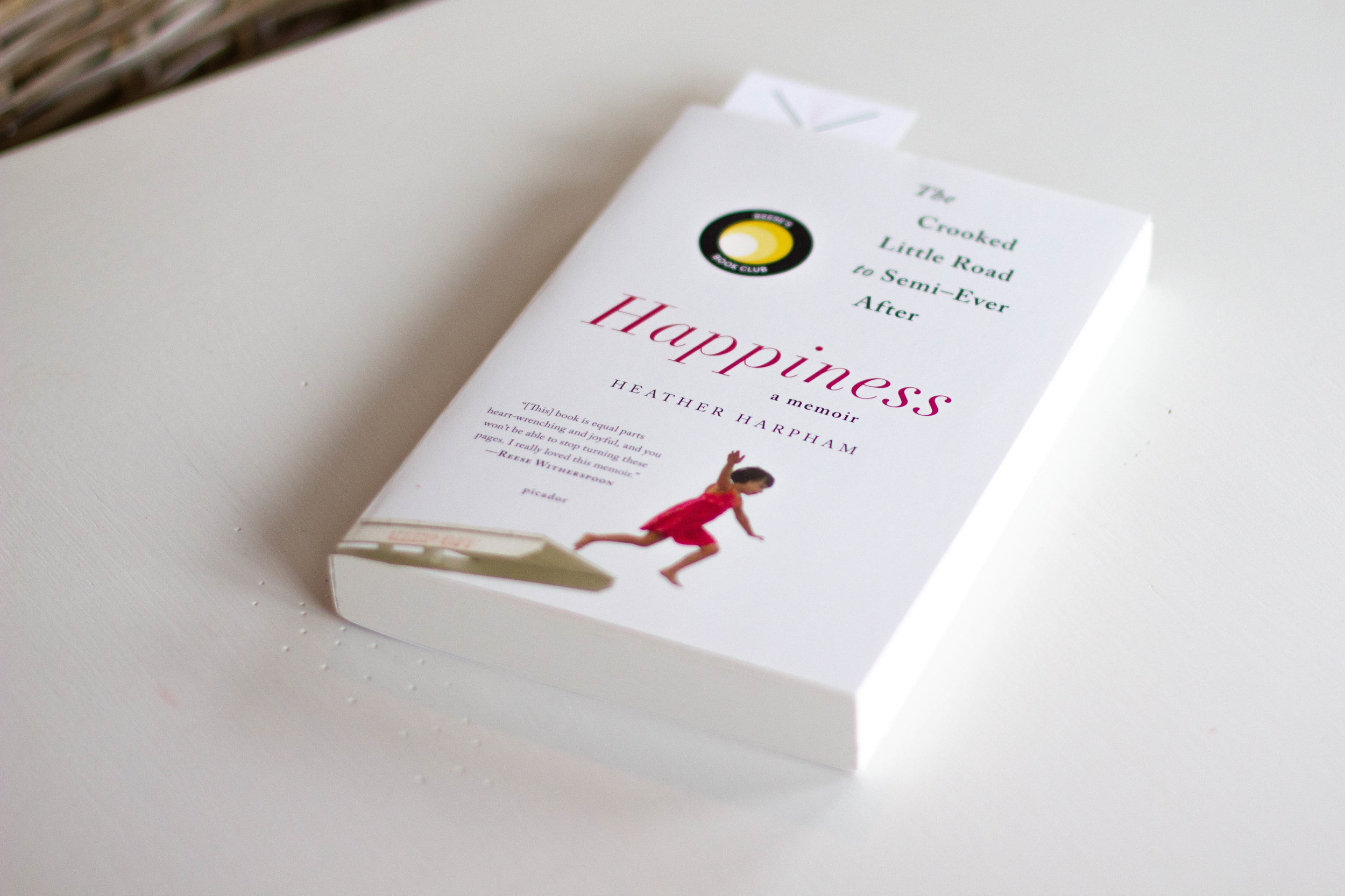 Book Feature - Happiness: The Crooked Little Road to Semi-Ever After