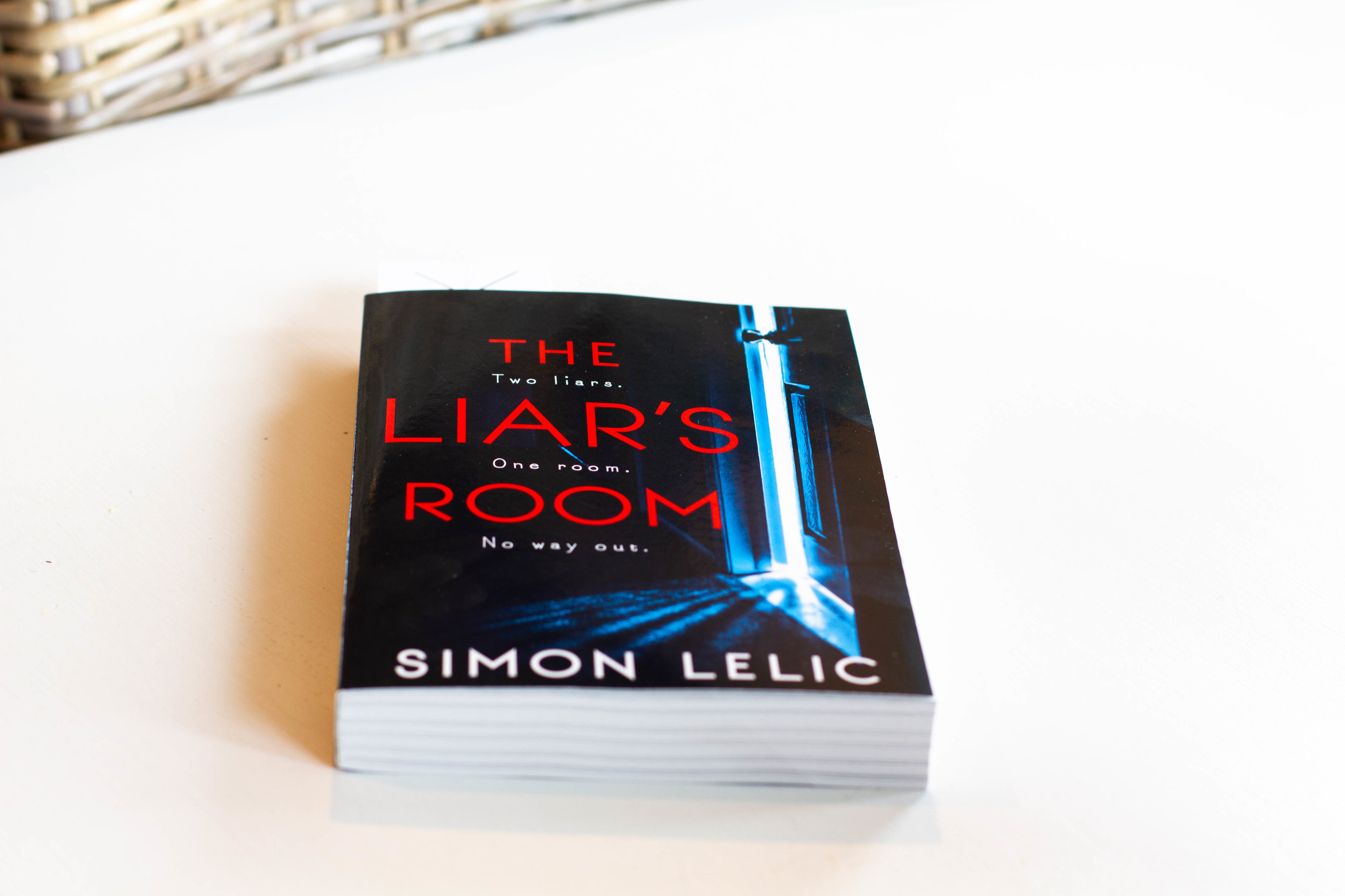 Book Feature - The Liar's Room by Simon Lelic