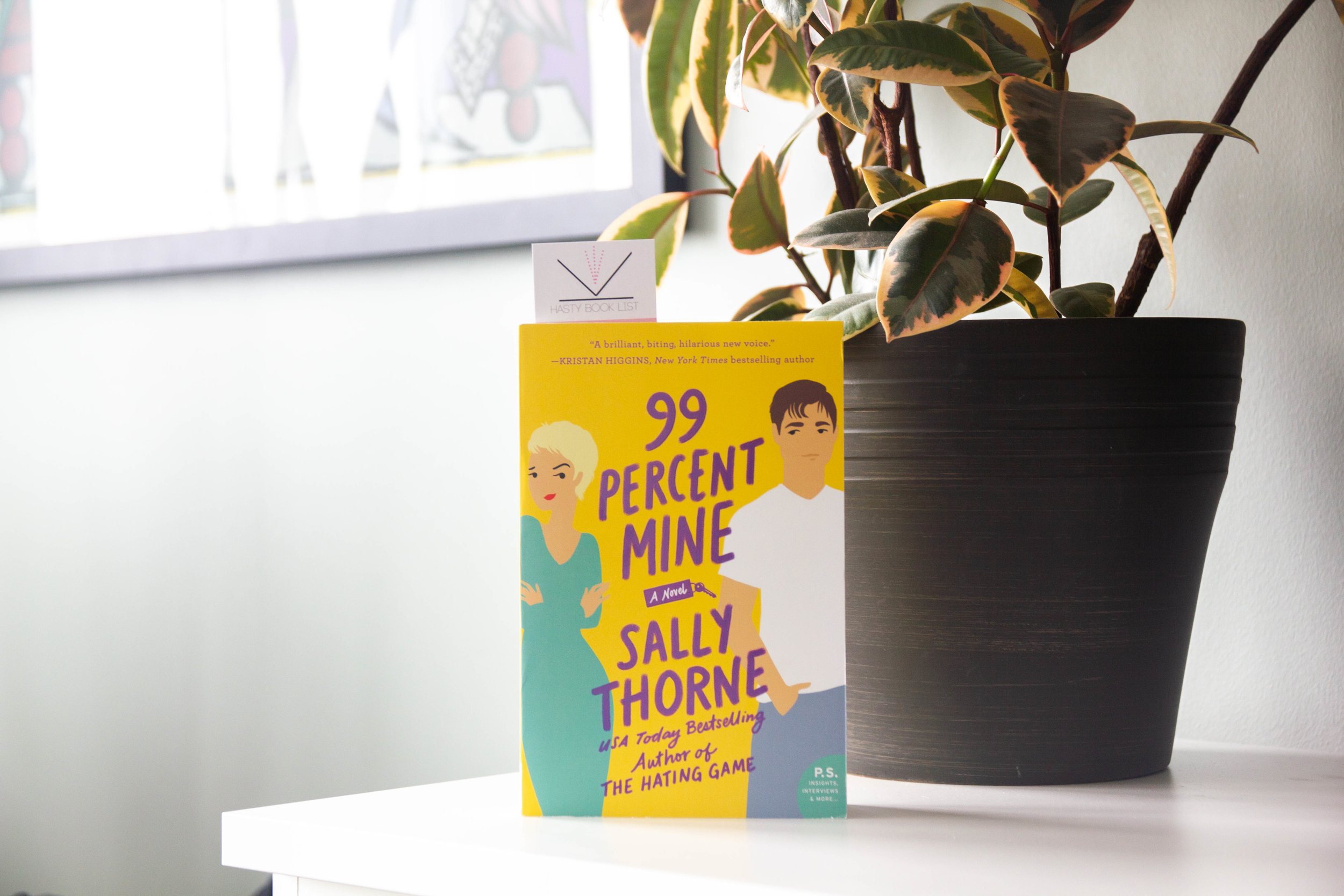Book Feature - 99 Percent Mine by Sally Thorne