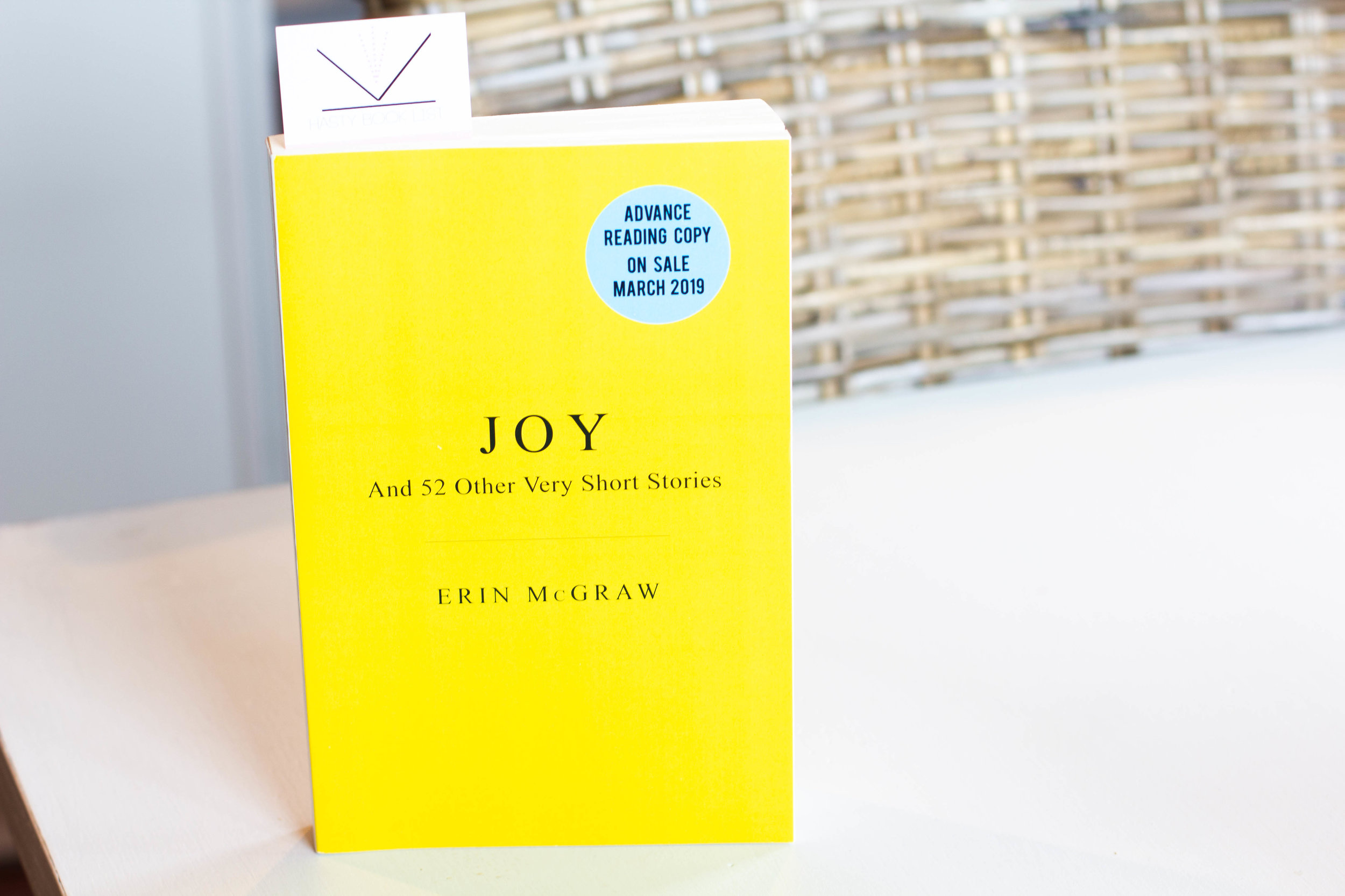 Book Feature - Joy by Erin McGraw