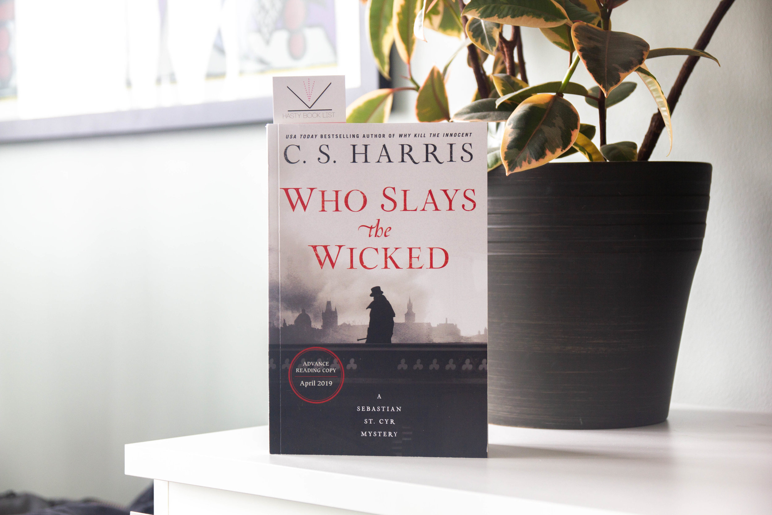 Book Feature - Who Slays the Wicked by C.S. Harris