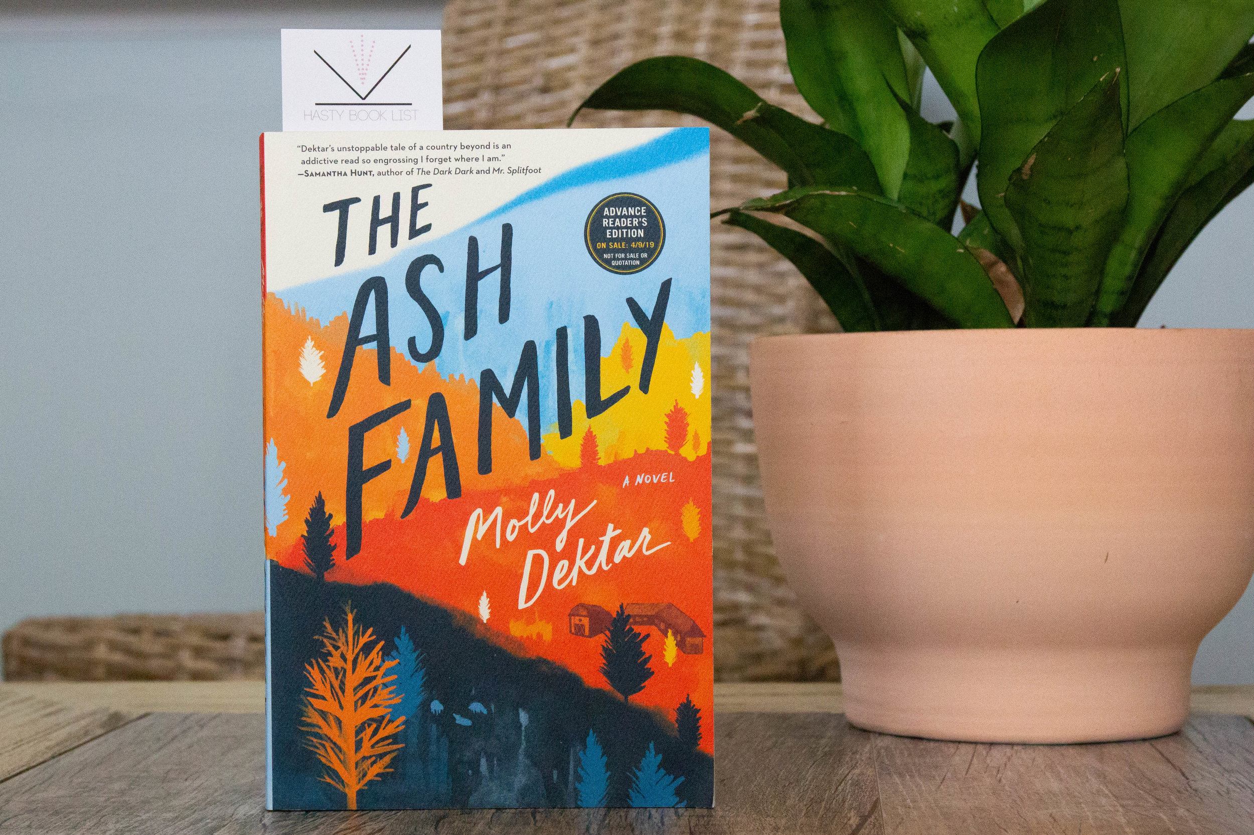 Book Feature - The Ash Family by Molly Dektar