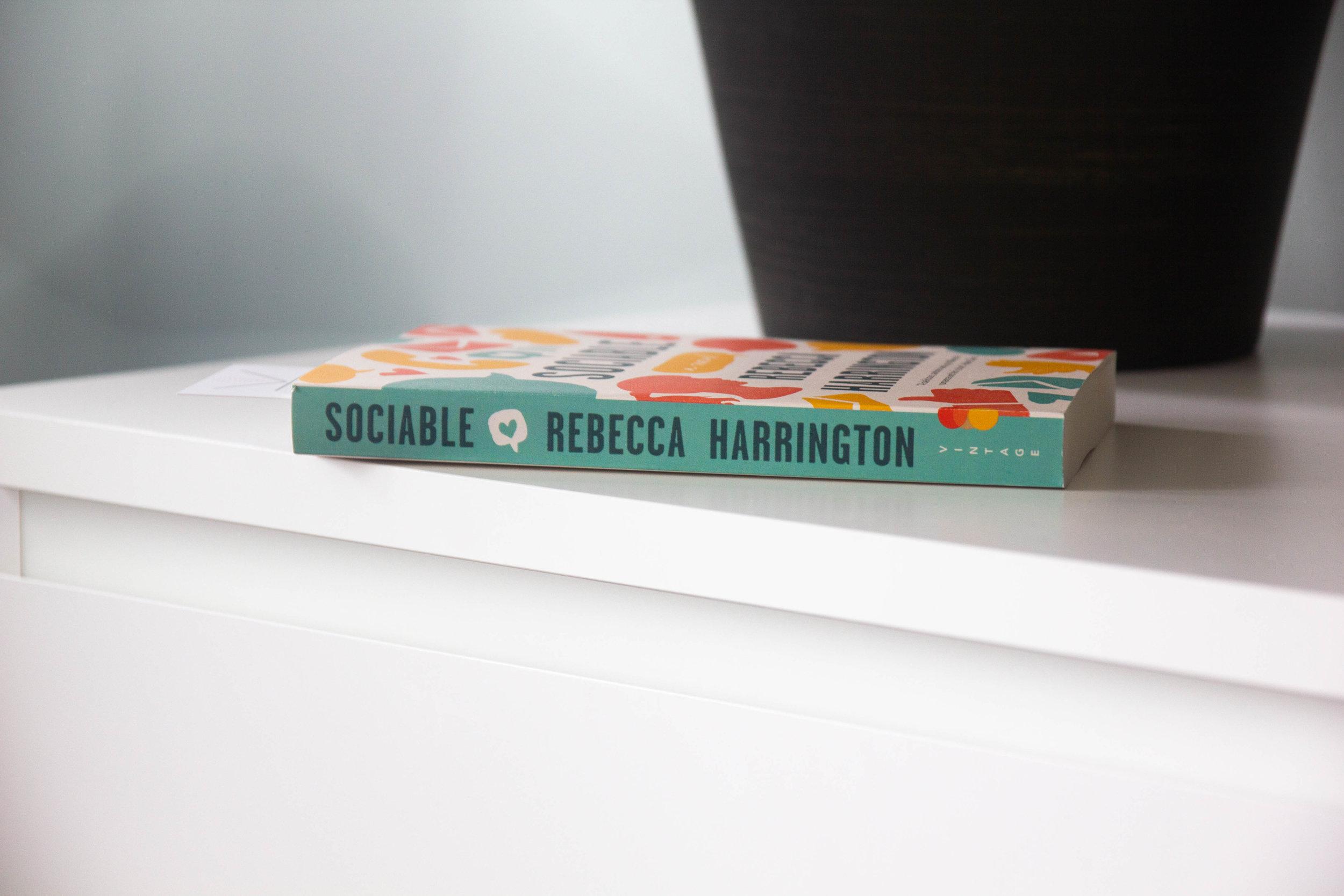 Book Feature - Sociable by Rebecca Harrington