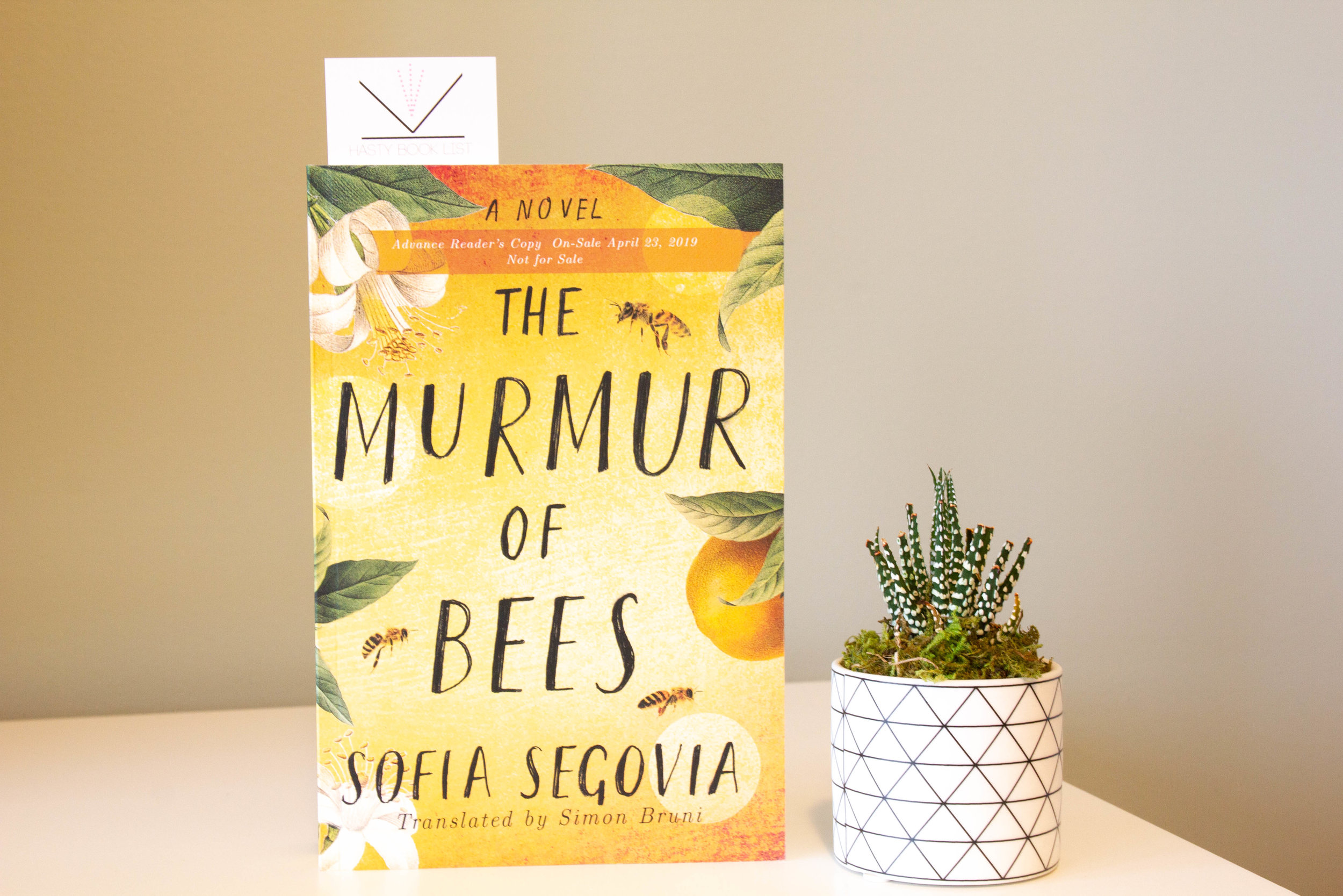 Book Feature - The Murmur of Bees by Sofia Segovia