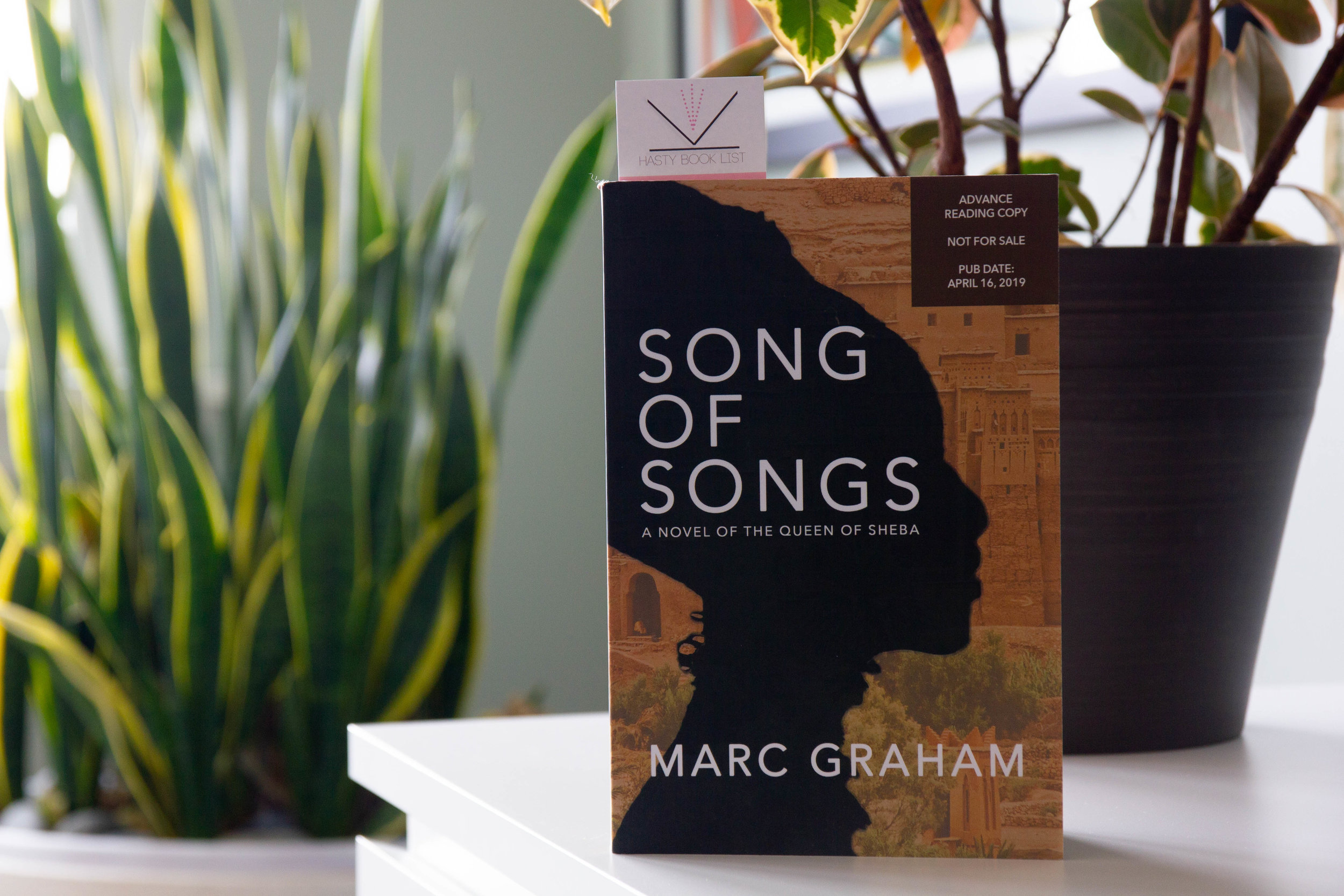 Book Feature - Song of Songs: A Novel of the Queen of Sheba by Marc Graham