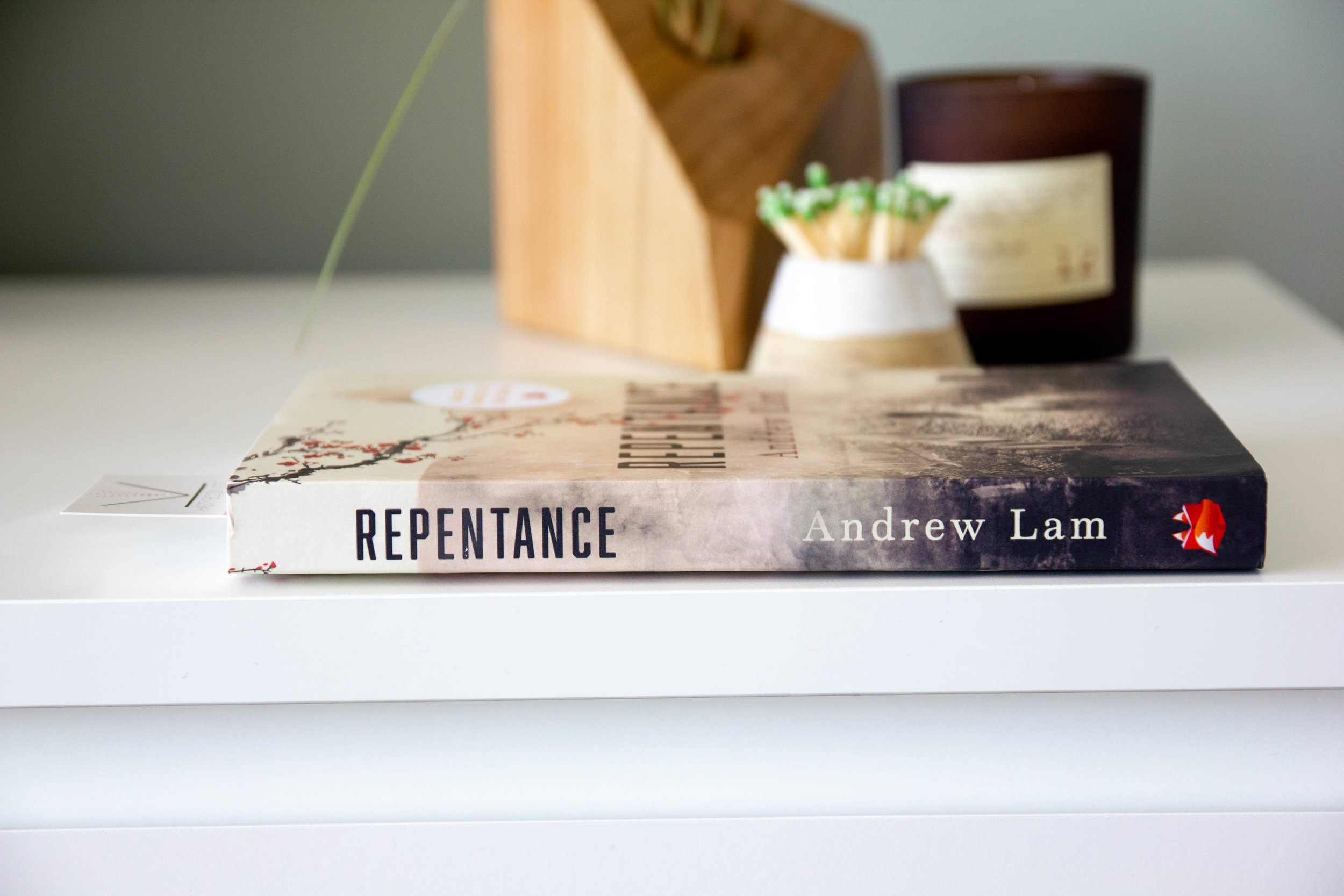 Book Feature - Repentance by Andrew Lam