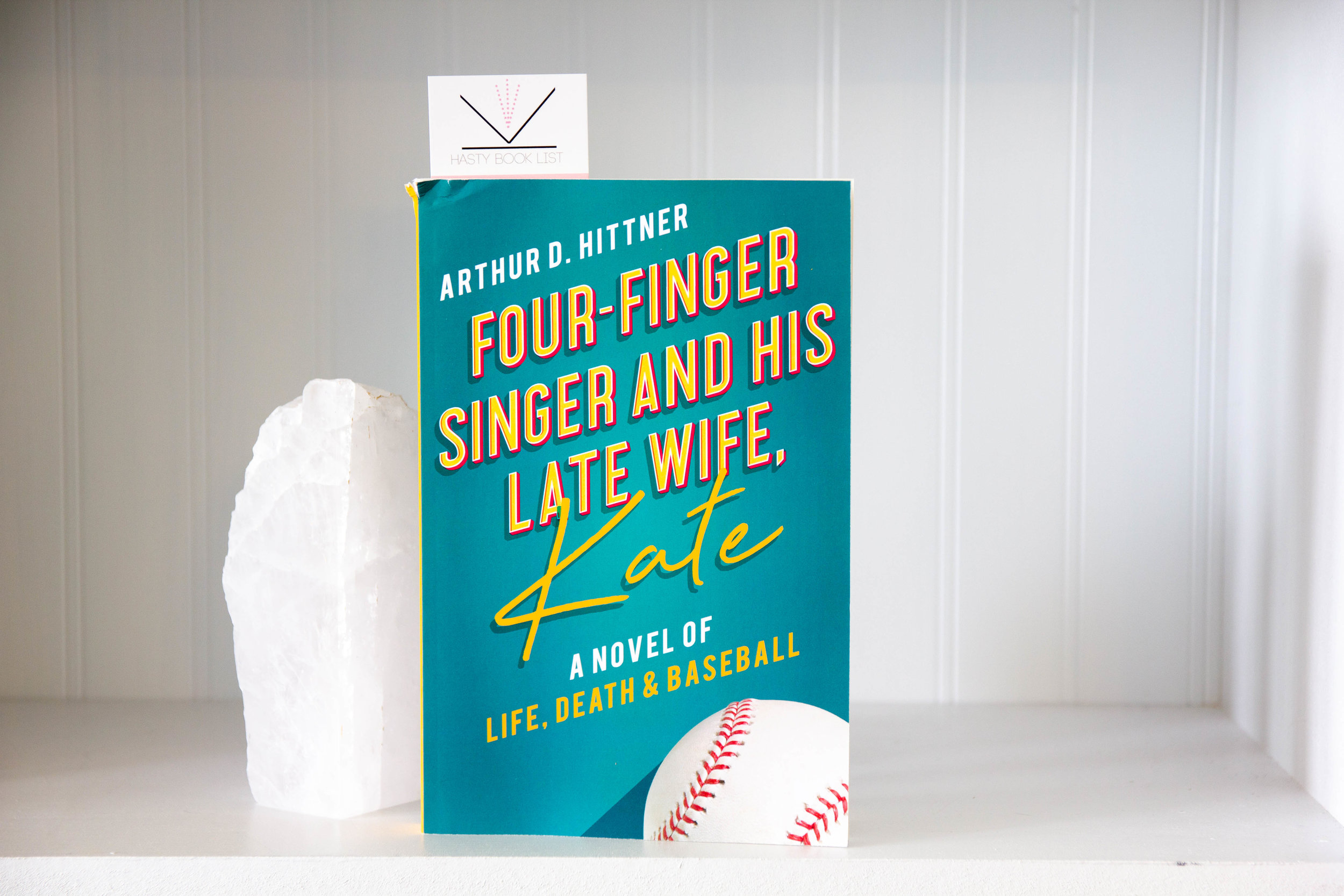 Book Feature - Four-Finger Singer and His Late Wife Kate by Arthur D. Hittner