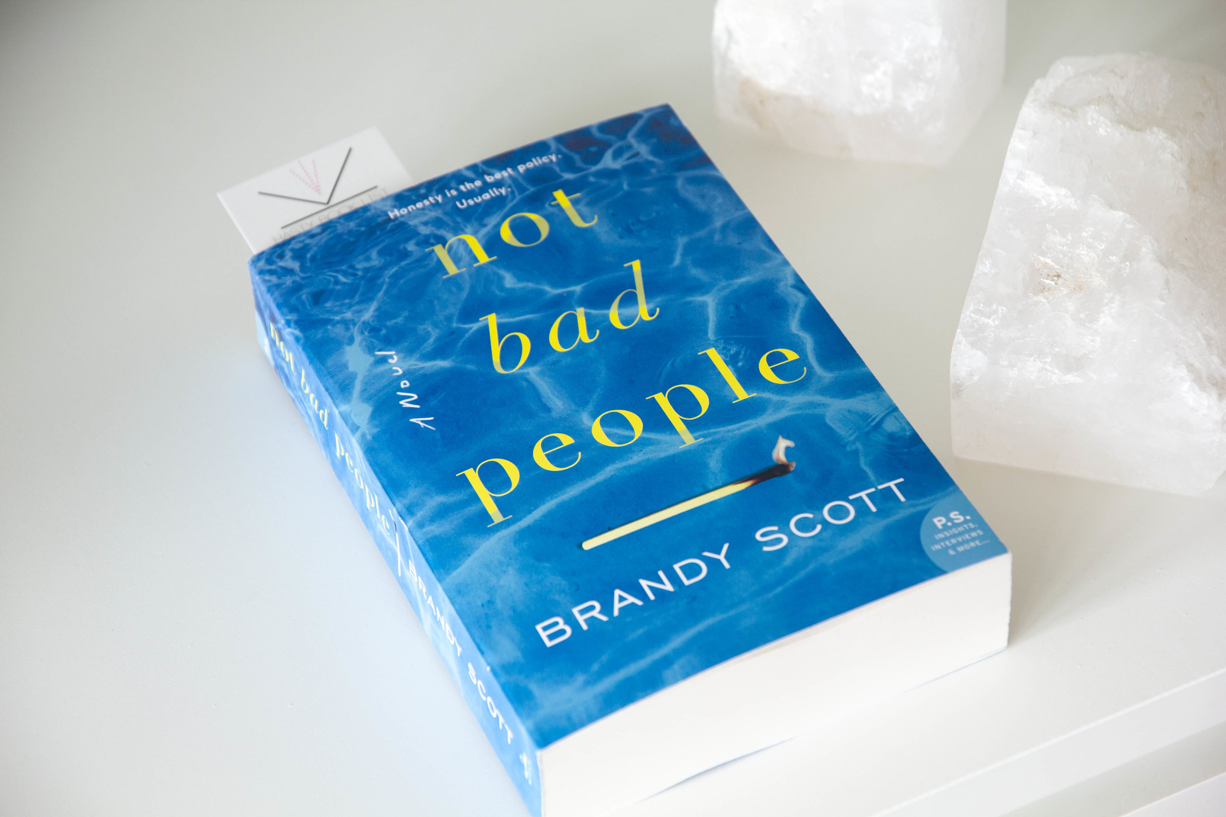 Book Feature - Not Bad People by Brandy Scott