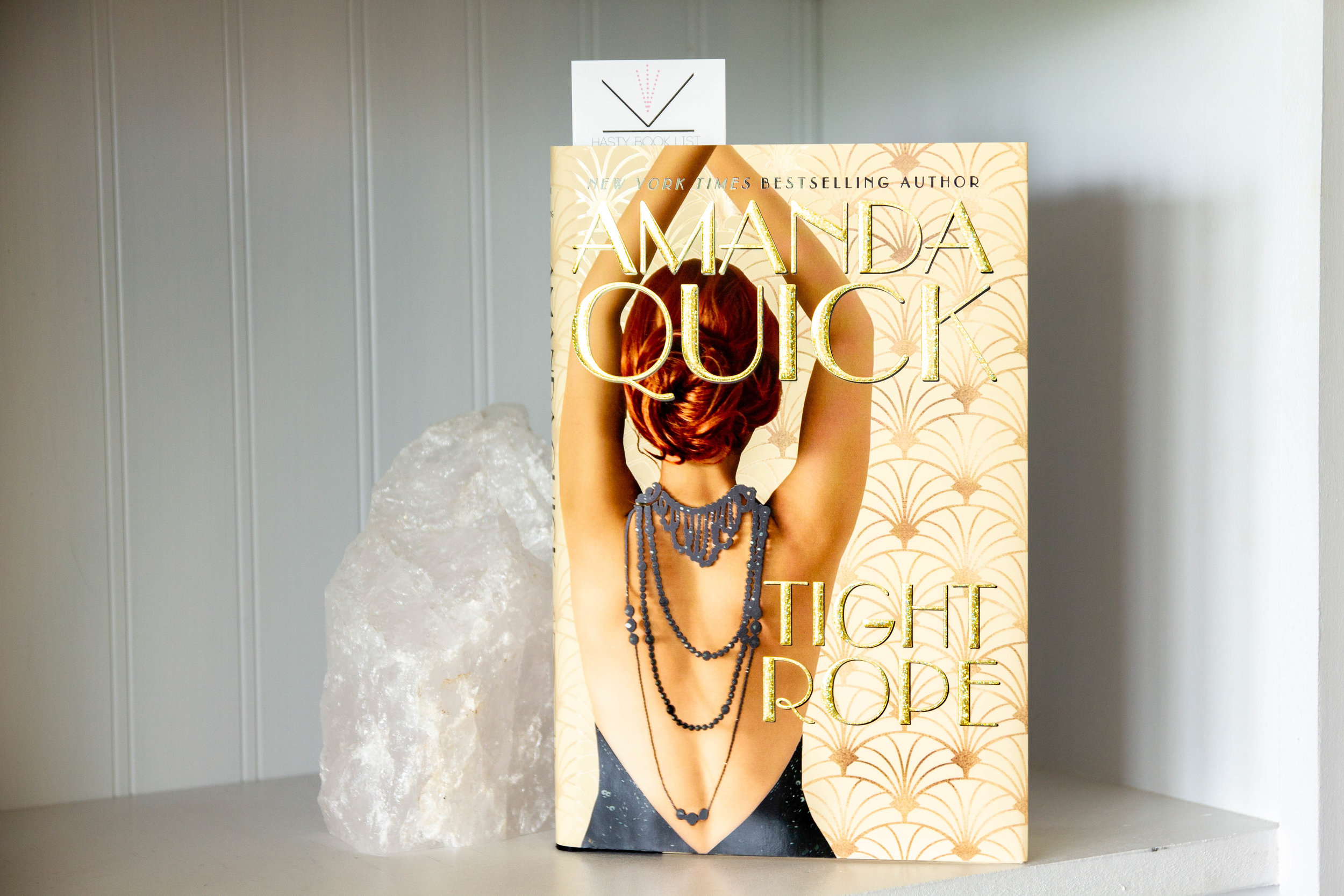 Book Feature - Tightrope by Amanda Quick