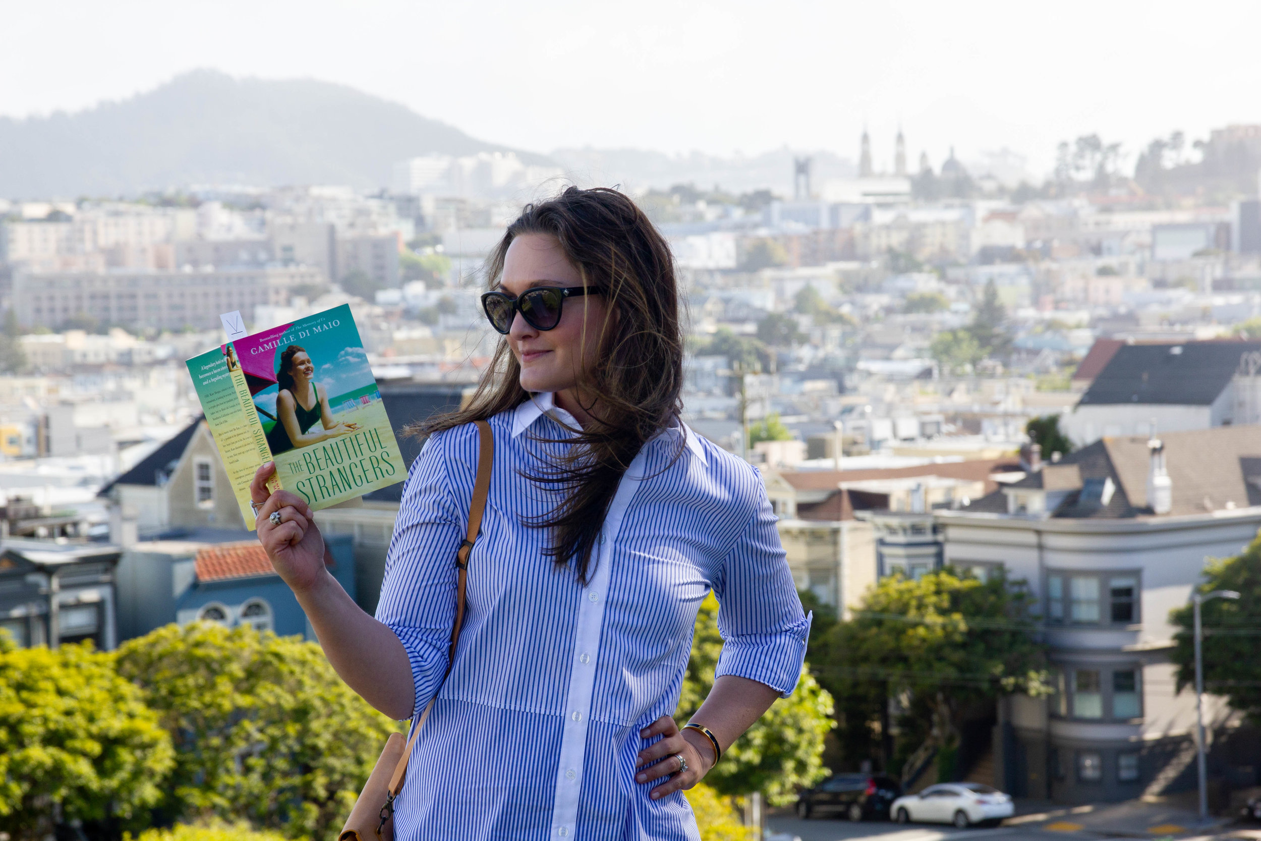 Reading The Beautiful Strangers by Camille di Maio in San Francisco, CA