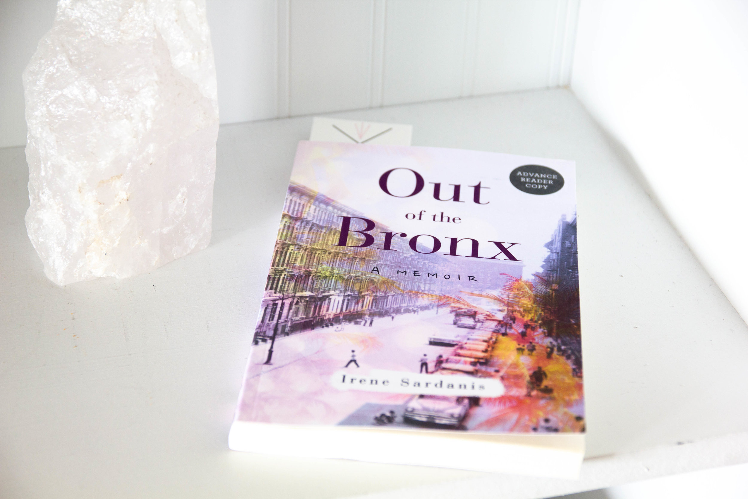 Book Feature - Out of the Bronx by Irene Sardanis