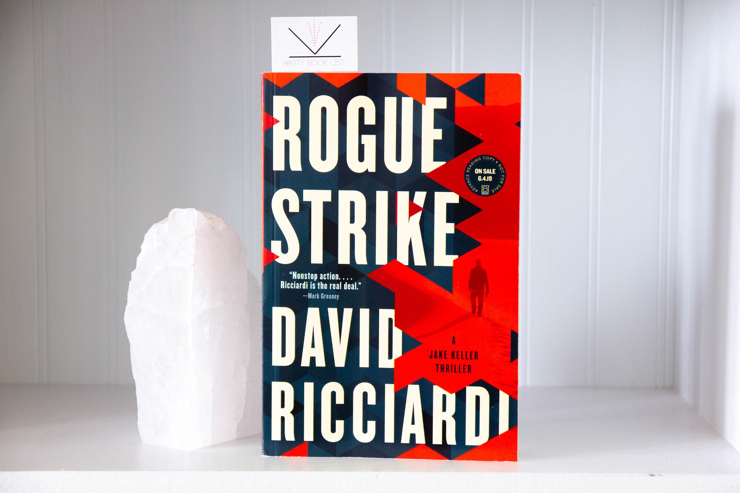 Book Feature - Rogue Strike by David Ricciardi