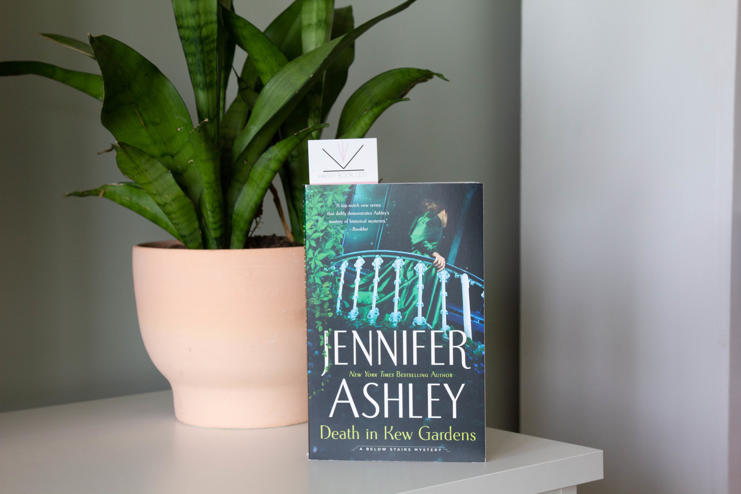 Book Feature - Death in the Kew Gardens by Jennifer Ashley