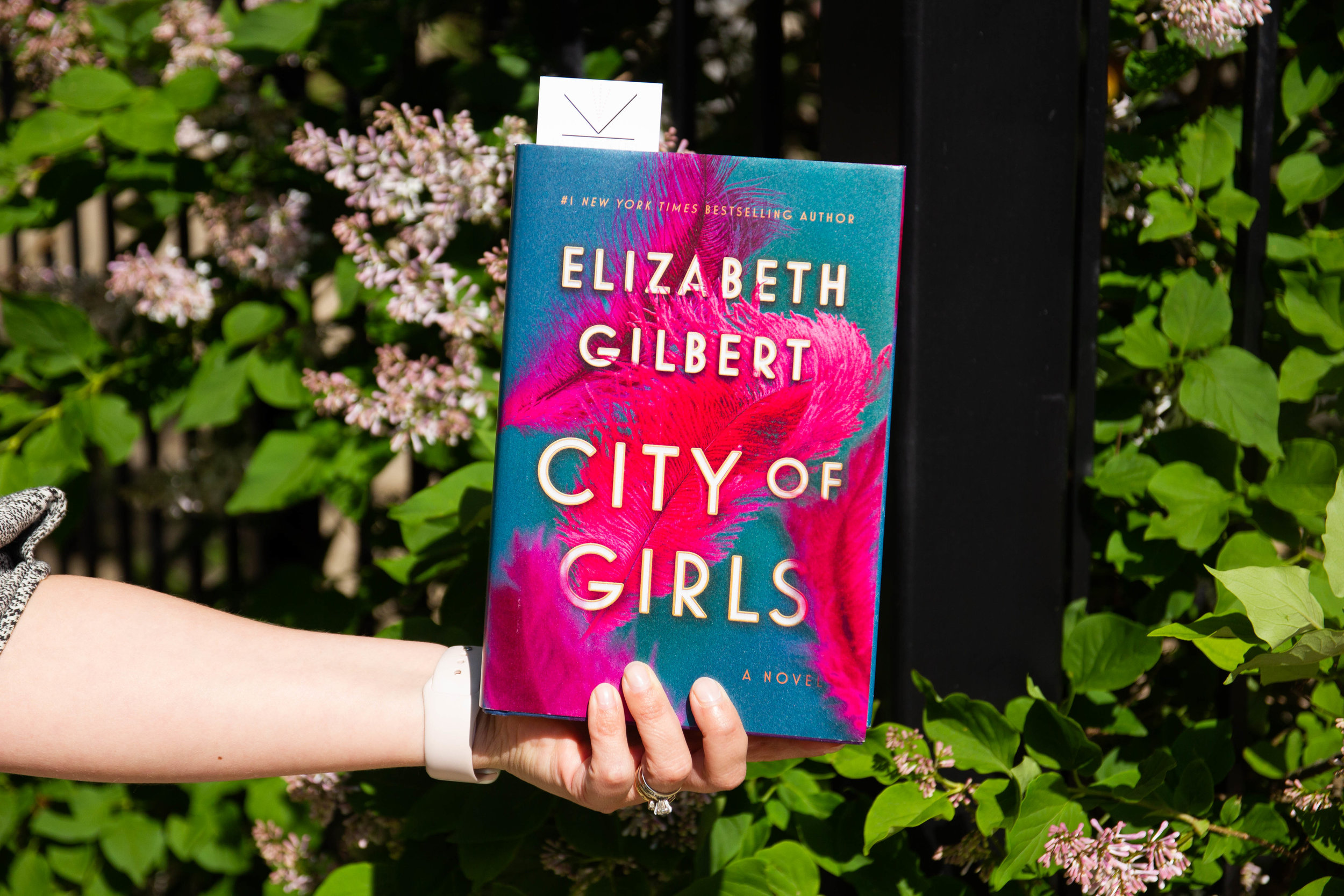 Reading City of Girls by Elizabeth Gilbert in Chicago, IL
