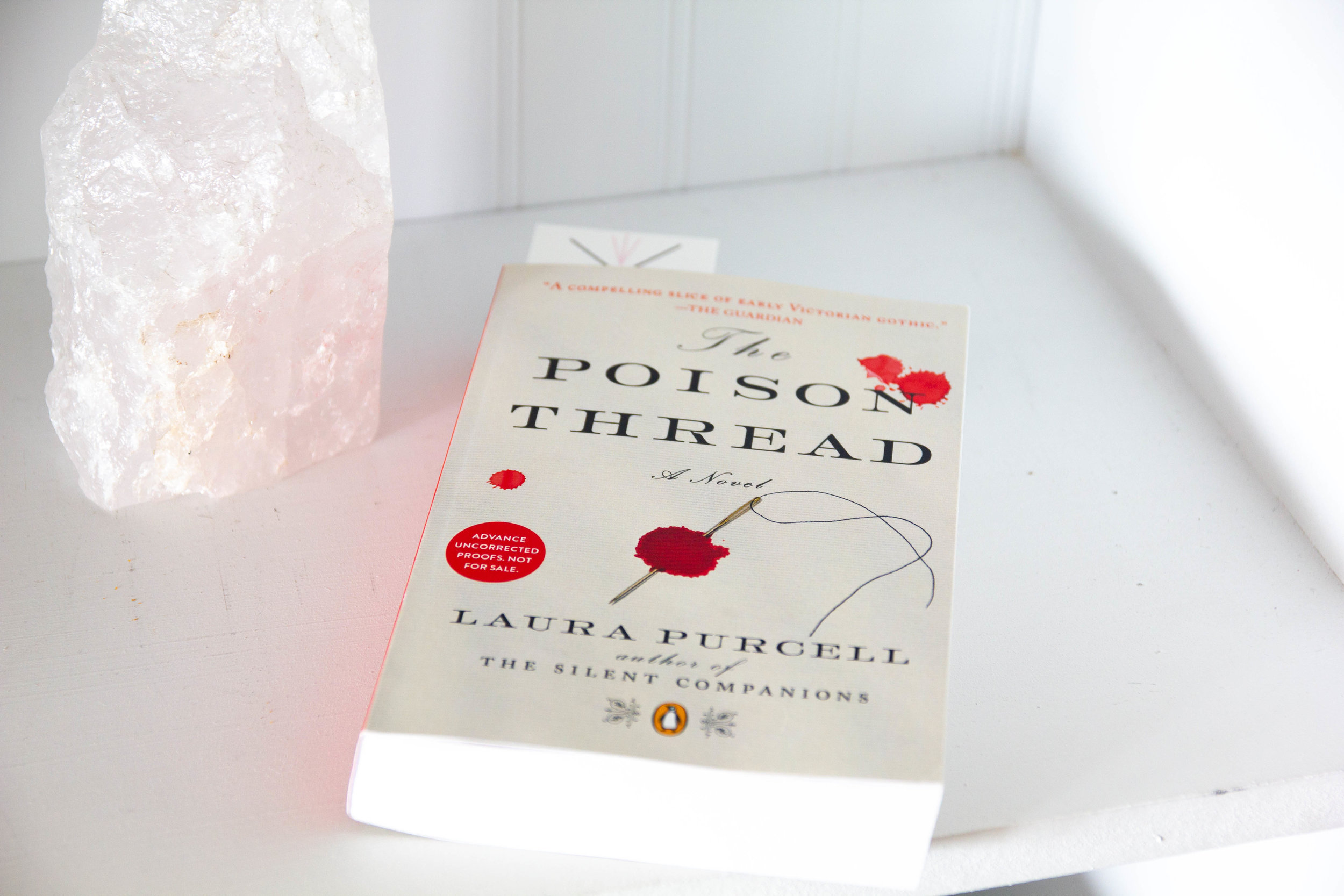 Book Feature - The Poison Thread by Laura Purcell